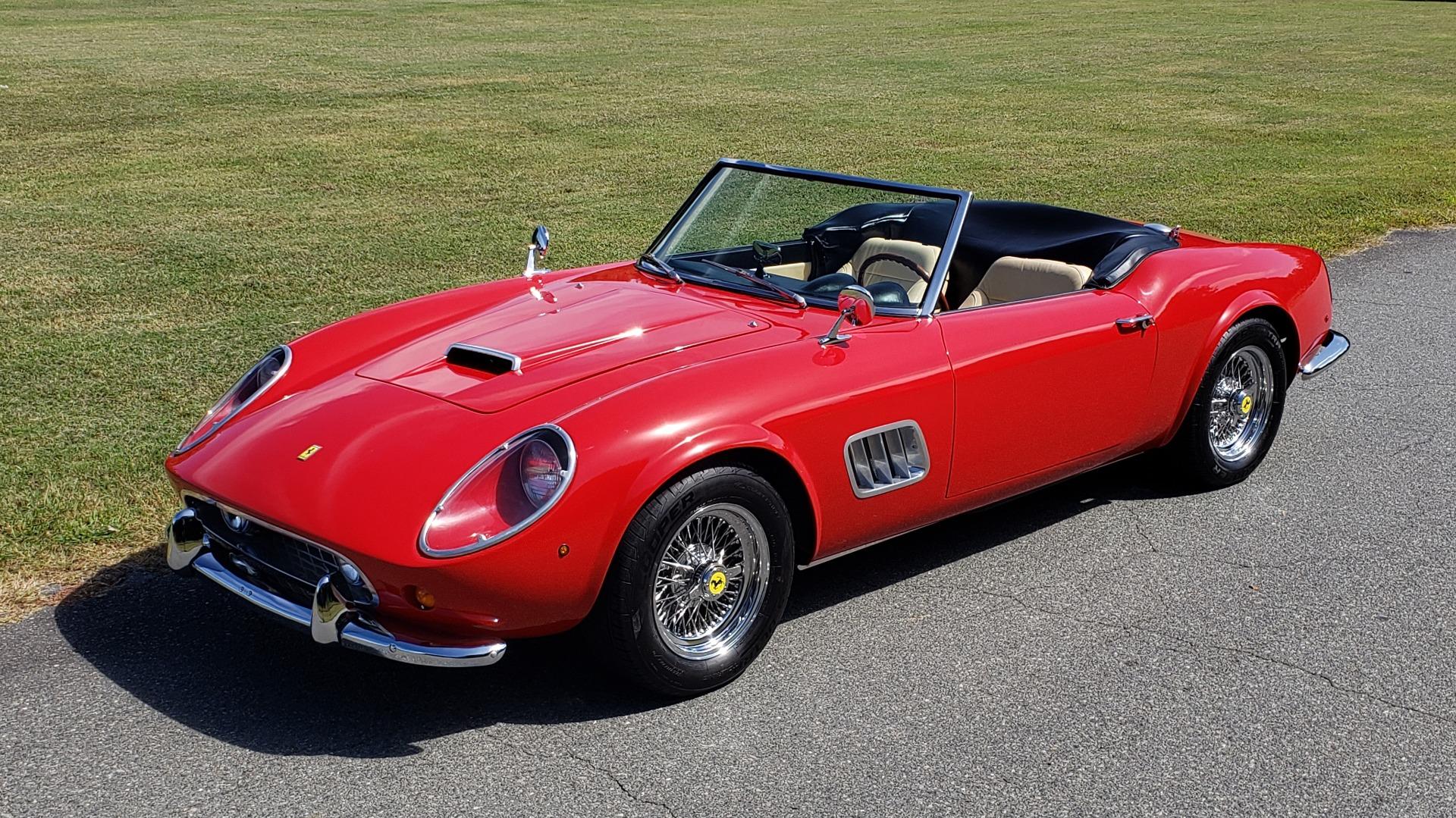 Used 1961 Ferrari 250GT SWB CALIFORNIA REPLICA / 302CI V8 / TREMEC 5-SPEED for sale Sold at Formula Imports in Charlotte NC 28227 15