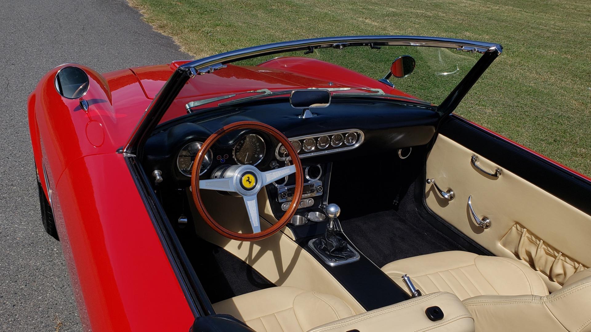 Used 1961 Ferrari 250GT SWB CALIFORNIA REPLICA / 302CI V8 / TREMEC 5-SPEED for sale Sold at Formula Imports in Charlotte NC 28227 18