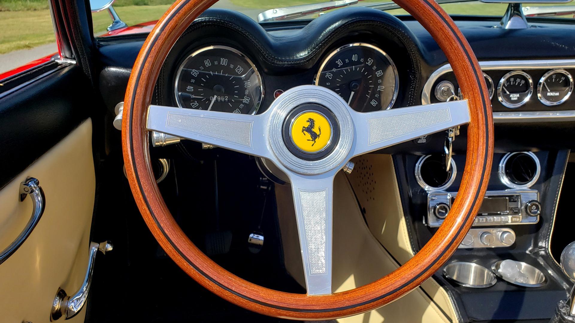 Used 1961 Ferrari 250GT SWB CALIFORNIA REPLICA / 302CI V8 / TREMEC 5-SPEED for sale Sold at Formula Imports in Charlotte NC 28227 21