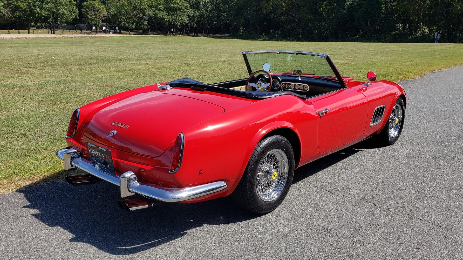 Used 1961 Ferrari 250GT SWB CALIFORNIA REPLICA / 302CI V8 / TREMEC 5-SPEED for sale Sold at Formula Imports in Charlotte NC 28227 23