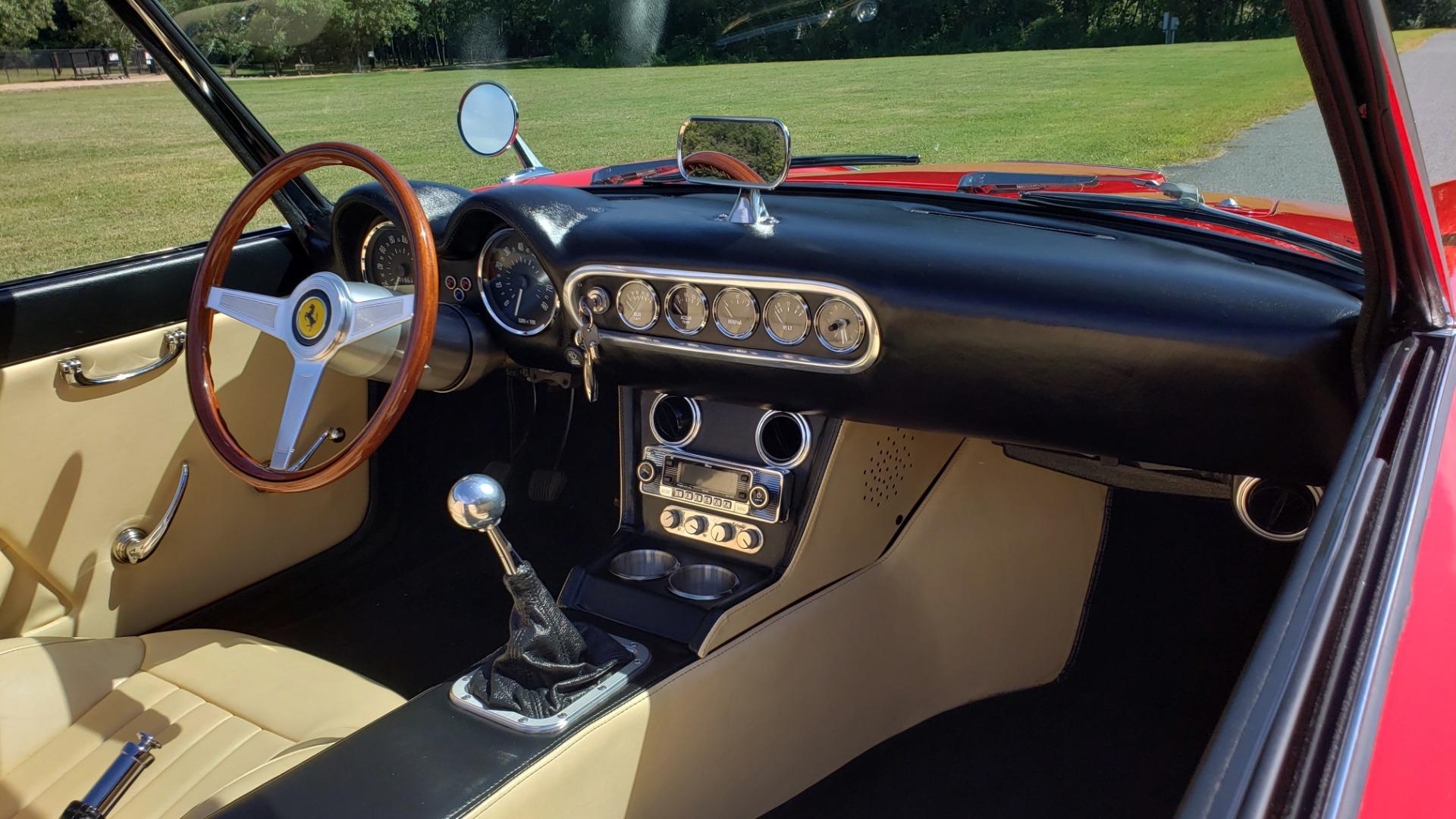 Used 1961 Ferrari 250GT SWB CALIFORNIA REPLICA / 302CI V8 / TREMEC 5-SPEED for sale Sold at Formula Imports in Charlotte NC 28227 30
