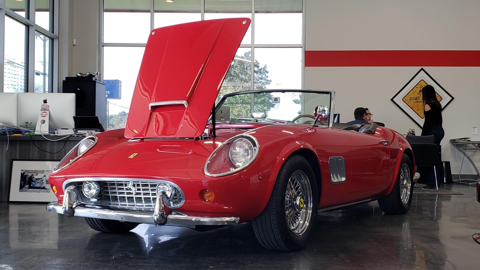 Used 1961 Ferrari 250GT SWB CALIFORNIA REPLICA / 302CI V8 / TREMEC 5-SPEED for sale Sold at Formula Imports in Charlotte NC 28227 76
