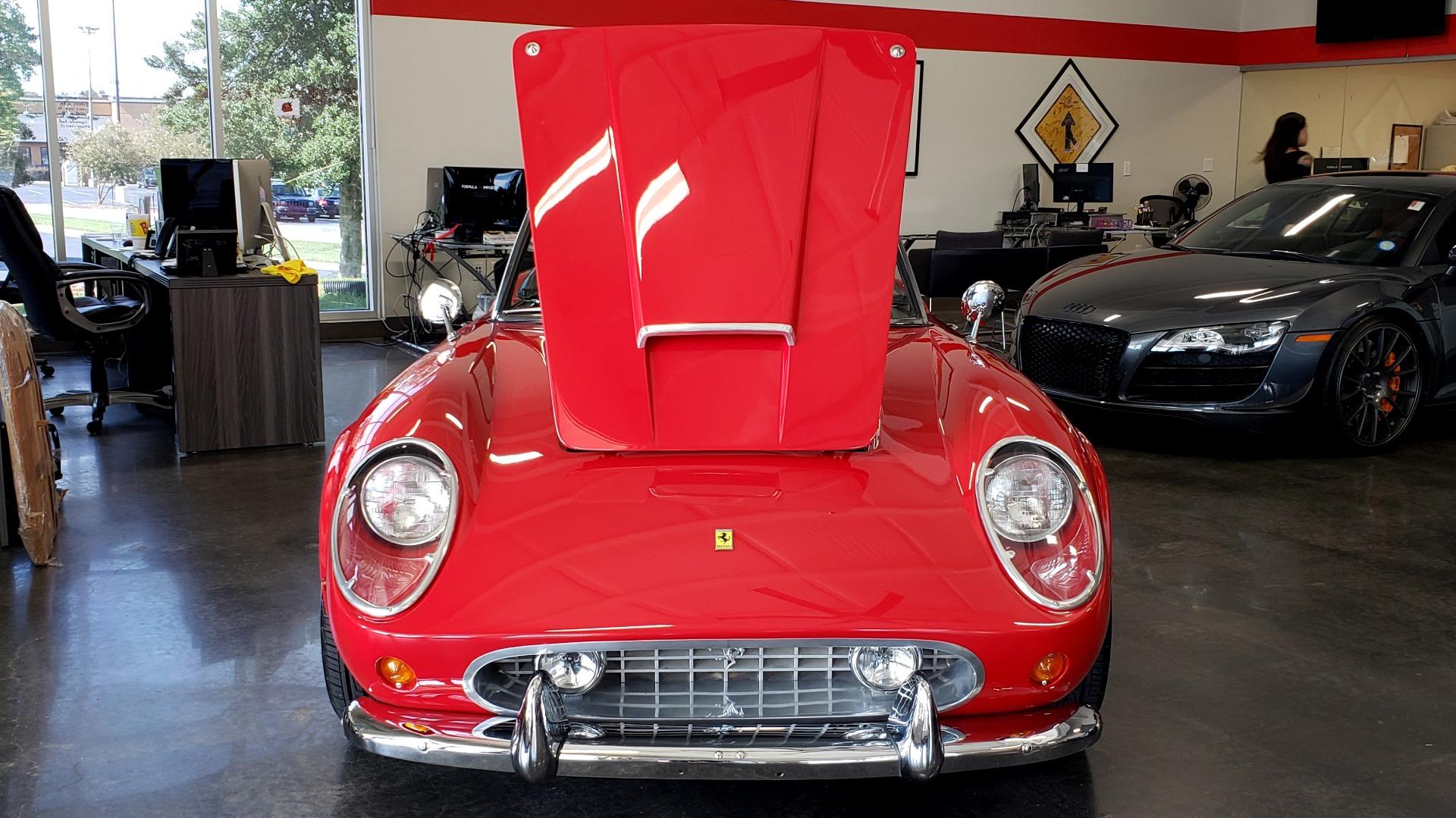 Used 1961 Ferrari 250GT SWB CALIFORNIA REPLICA / 302CI V8 / TREMEC 5-SPEED for sale Sold at Formula Imports in Charlotte NC 28227 77