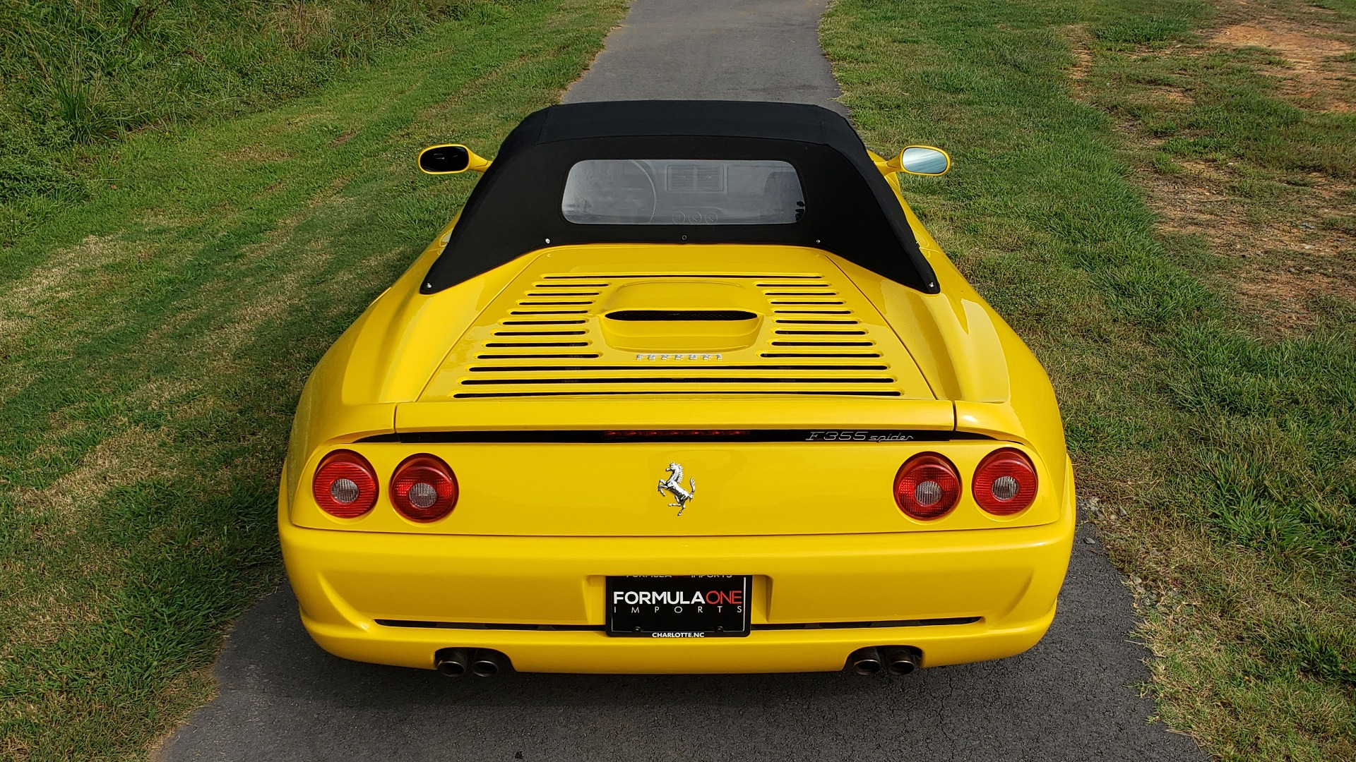 Used 1996 Ferrari F355 SPIDER / GATED 6-SPEED MANUAL / LOW MILES / NEW TIRES for sale $95,999 at Formula Imports in Charlotte NC 28227 56