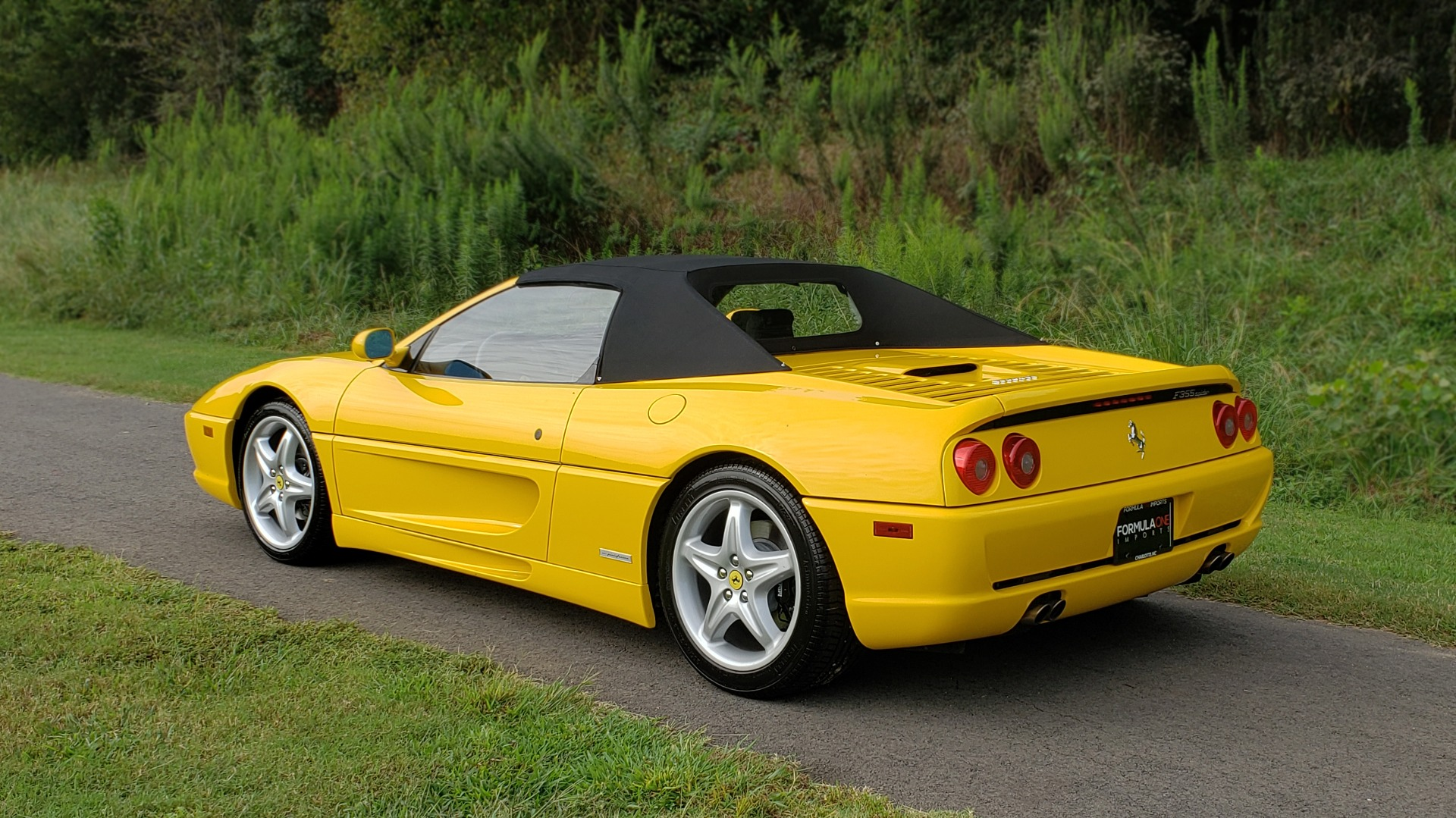 Used 1996 Ferrari F355 SPIDER / GATED 6-SPEED MANUAL / LOW MILES / NEW TIRES for sale $97,999 at Formula Imports in Charlotte NC 28227 8