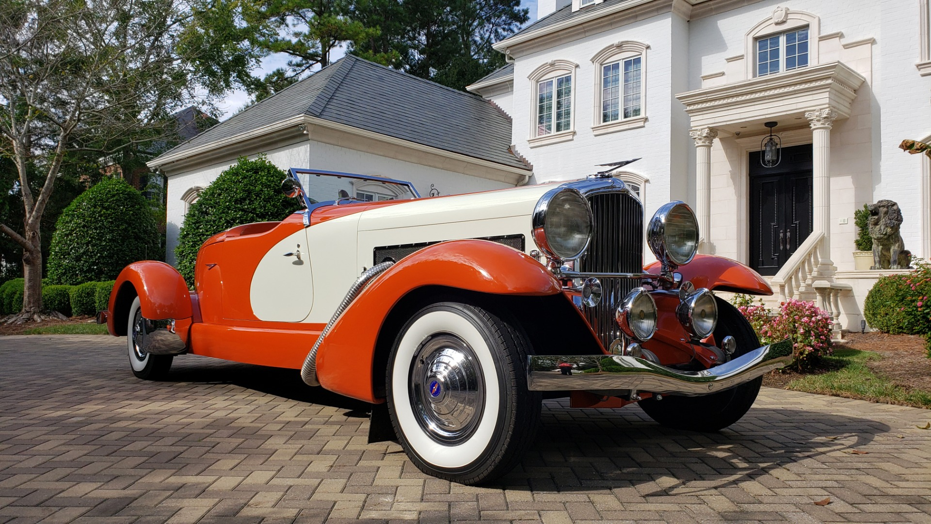 Used 1979 Duesenberg 1933 SJ BOATTAIL SPEEDSTER REPLICA / FORD V8 / AUTO TRANS / SUPER CLEAN for sale $379,000 at Formula Imports in Charlotte NC 28227 3