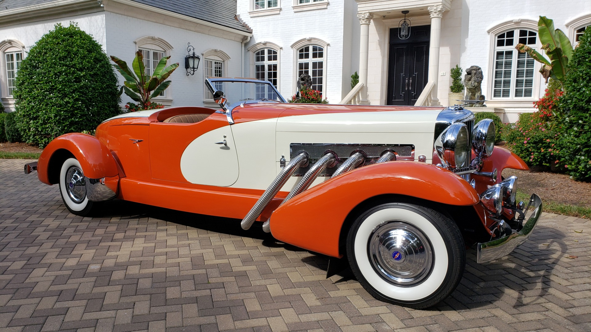 Used 1979 Duesenberg 1933 SJ BOATTAIL SPEEDSTER REPLICA / FORD V8 / AUTO TRANS / SUPER CLEAN for sale $309,000 at Formula Imports in Charlotte NC 28227 4