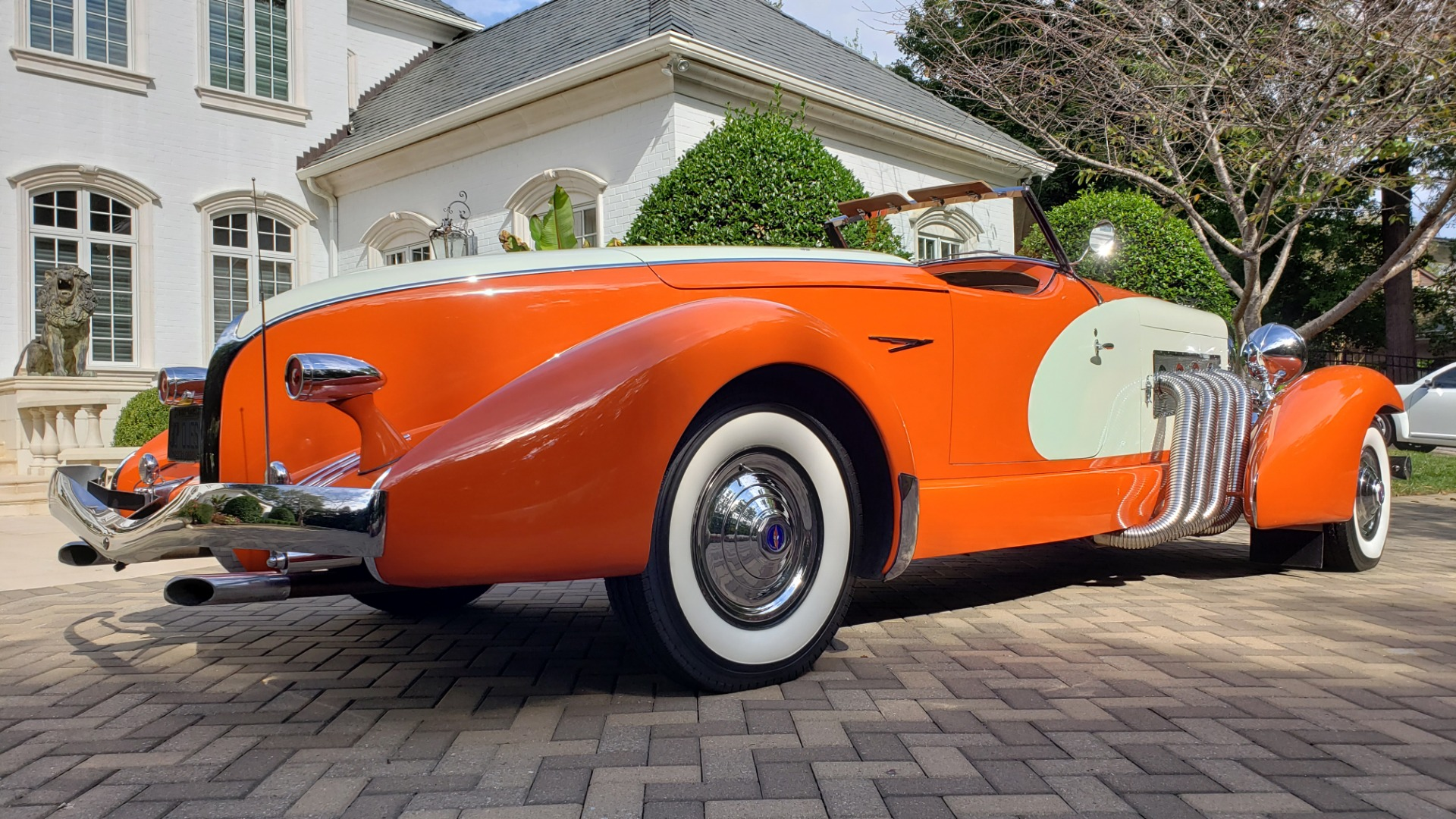 Used 1979 Duesenberg 1933 SJ BOATTAIL SPEEDSTER REPLICA / FORD V8 / AUTO TRANS / SUPER CLEAN for sale $379,000 at Formula Imports in Charlotte NC 28227 5