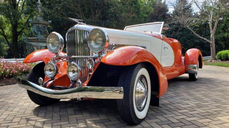 Used 1979 Duesenberg 1933 SJ BOATTAIL SPEEDSTER REPLICA / FORD V8 / AUTO TRANS / SUPER CLEAN for sale $309,000 at Formula Imports in Charlotte NC