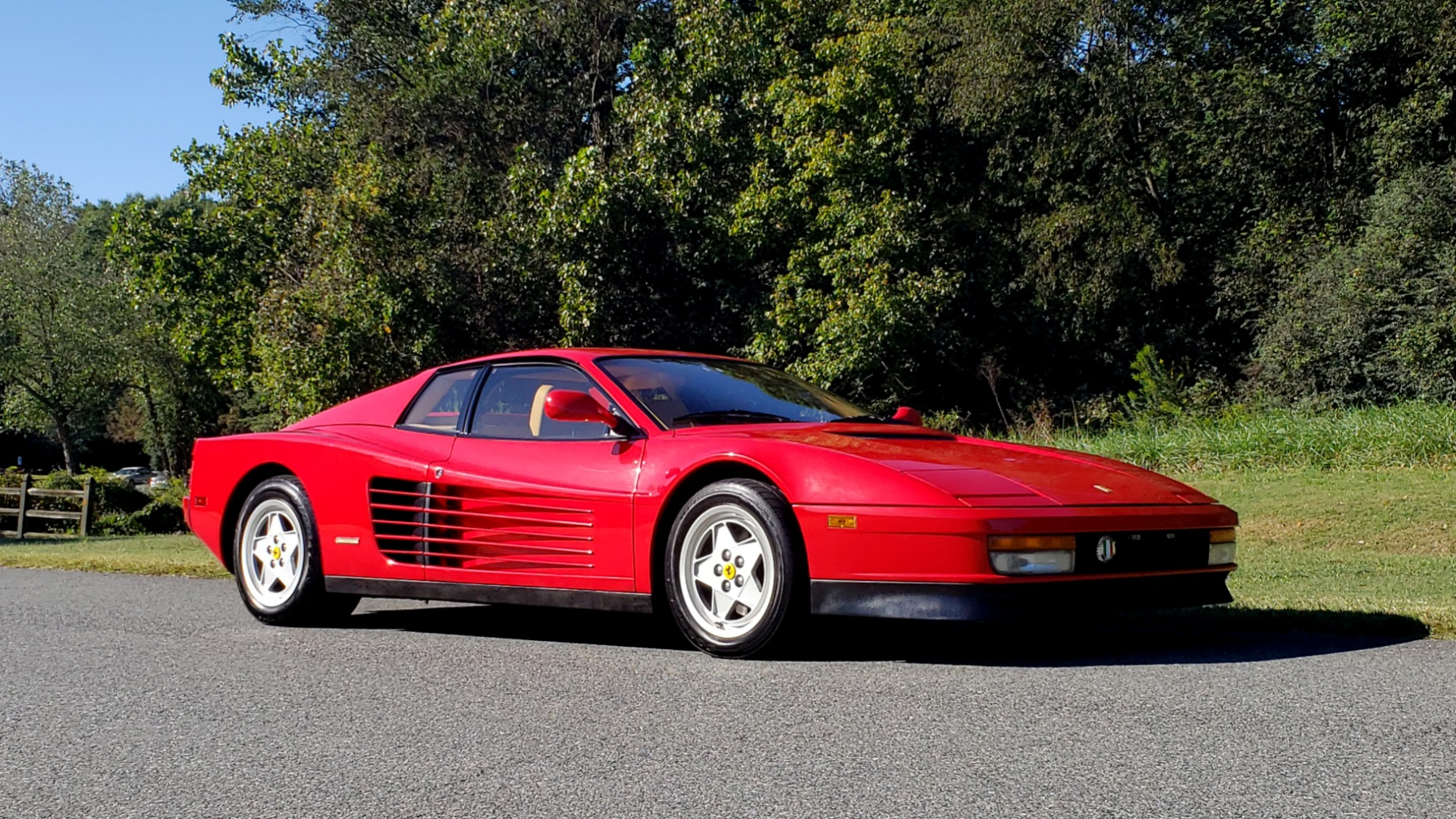 Used 1988 Ferrari TESTAROSSA COUPE / 4.9L FLAT-12 / 5-SPEED MANUAL / LOW MILES SUPER CLEAN for sale $128,999 at Formula Imports in Charlotte NC 28227 12