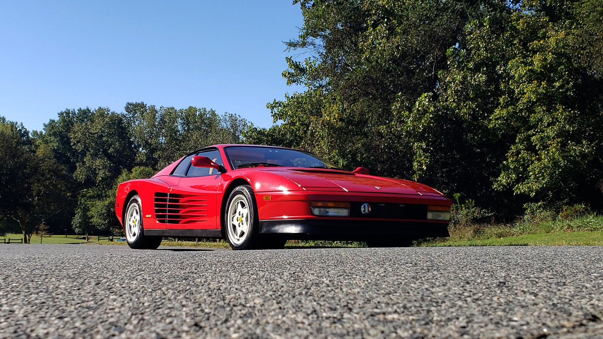 Used 1988 Ferrari TESTAROSSA COUPE / 4.9L FLAT-12 / 5-SPEED MANUAL / LOW MILES SUPER CLEAN for sale $128,999 at Formula Imports in Charlotte NC 28227 13