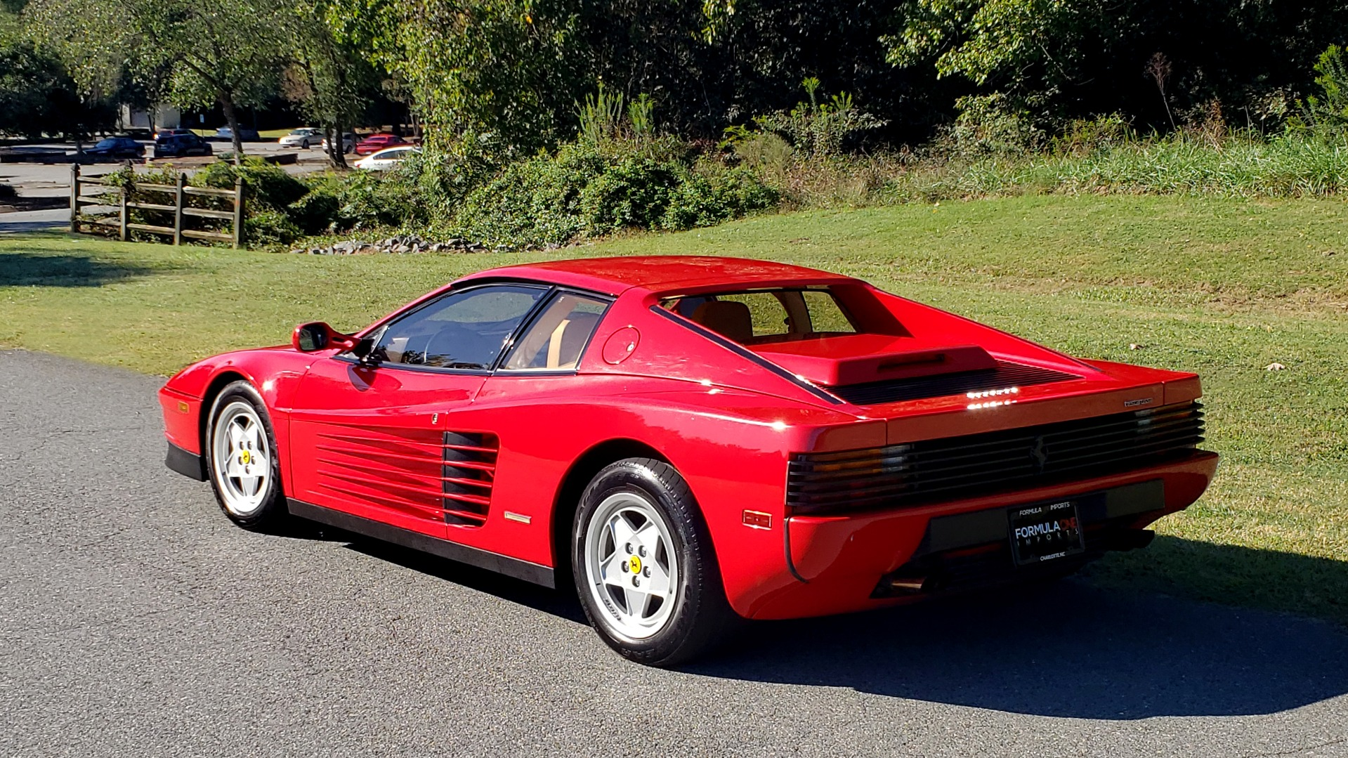 Used 1988 Ferrari TESTAROSSA COUPE / 4.9L FLAT-12 / 5-SPEED MANUAL / LOW MILES SUPER CLEAN for sale $128,999 at Formula Imports in Charlotte NC 28227 4