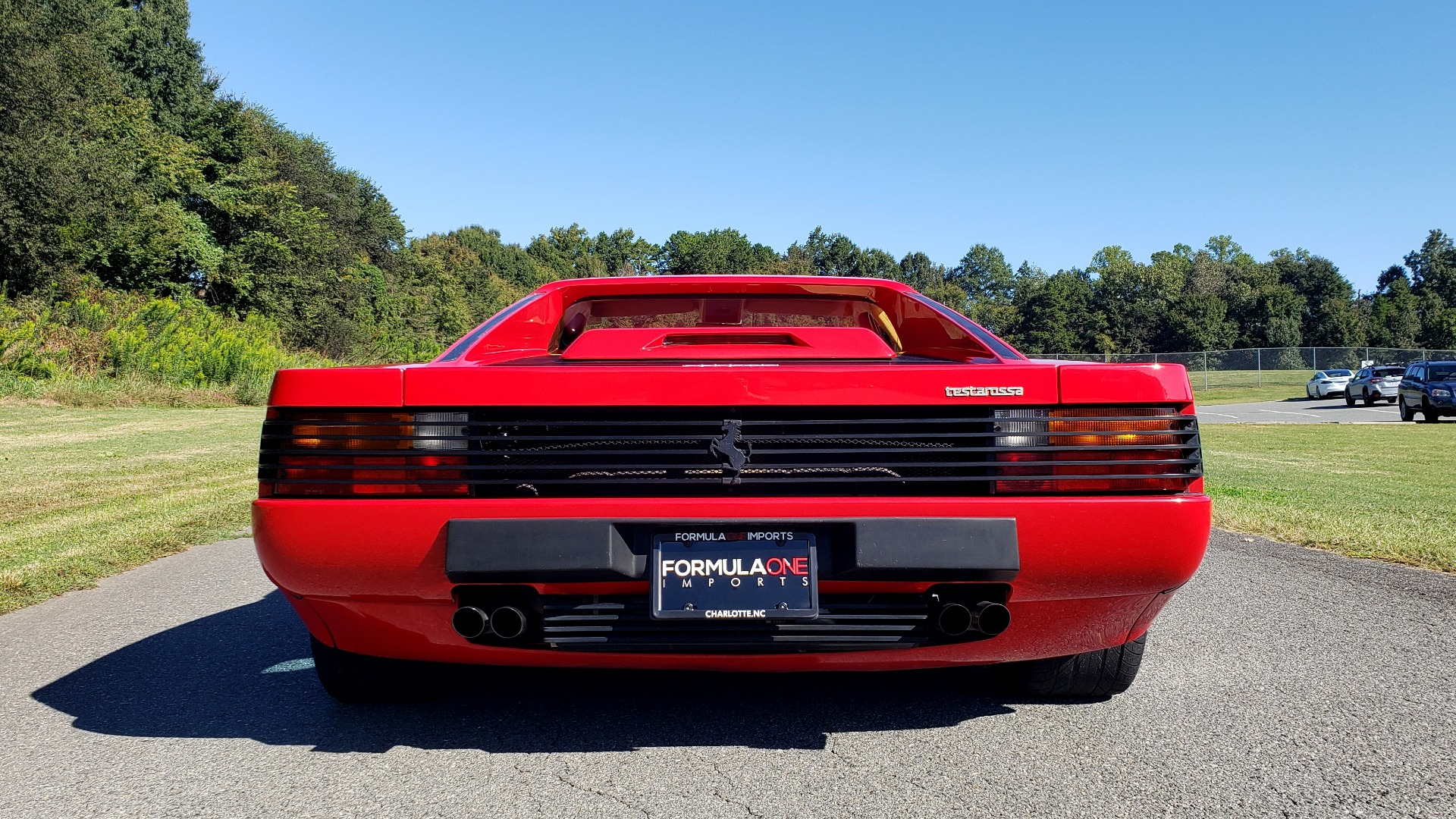 Used 1988 Ferrari TESTAROSSA COUPE / 4.9L FLAT-12 / 5-SPEED MANUAL / LOW MILES SUPER CLEAN for sale $128,999 at Formula Imports in Charlotte NC 28227 40
