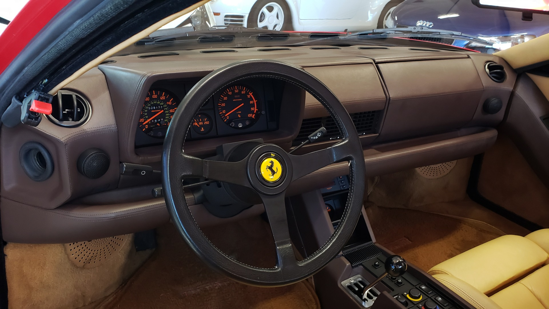 Used 1988 Ferrari TESTAROSSA COUPE / 4.9L FLAT-12 / 5-SPEED MANUAL / LOW MILES SUPER CLEAN for sale $128,999 at Formula Imports in Charlotte NC 28227 47