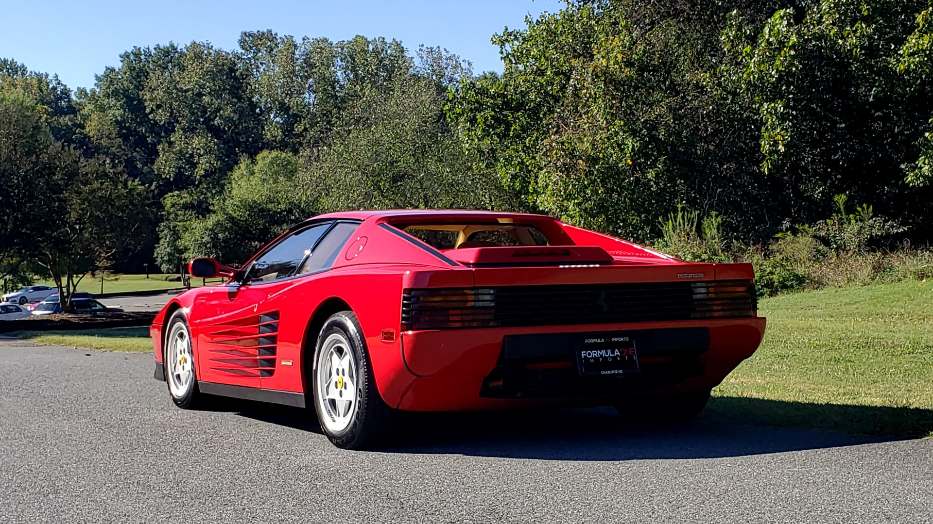 Used 1988 Ferrari TESTAROSSA COUPE / 4.9L FLAT-12 / 5-SPEED MANUAL / LOW MILES SUPER CLEAN for sale $128,999 at Formula Imports in Charlotte NC 28227 5