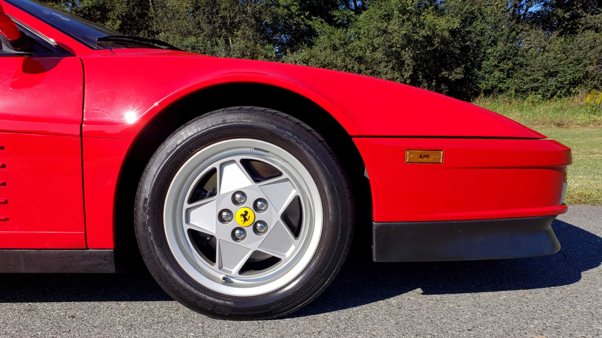 Used 1988 Ferrari TESTAROSSA COUPE / 4.9L FLAT-12 / 5-SPEED MANUAL / LOW MILES SUPER CLEAN for sale $128,999 at Formula Imports in Charlotte NC 28227 61
