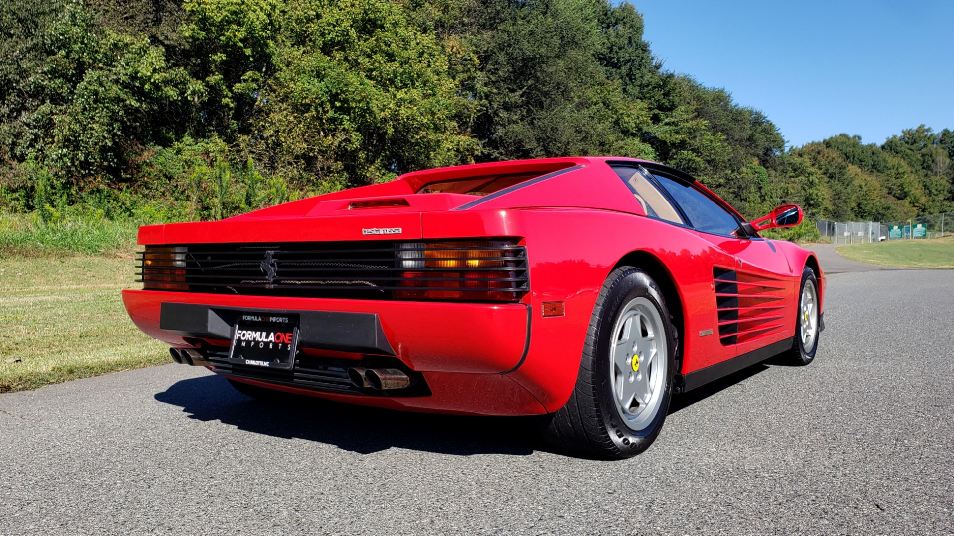 Used 1988 Ferrari TESTAROSSA COUPE / 4.9L FLAT-12 / 5-SPEED MANUAL / LOW MILES SUPER CLEAN for sale $128,999 at Formula Imports in Charlotte NC 28227 7