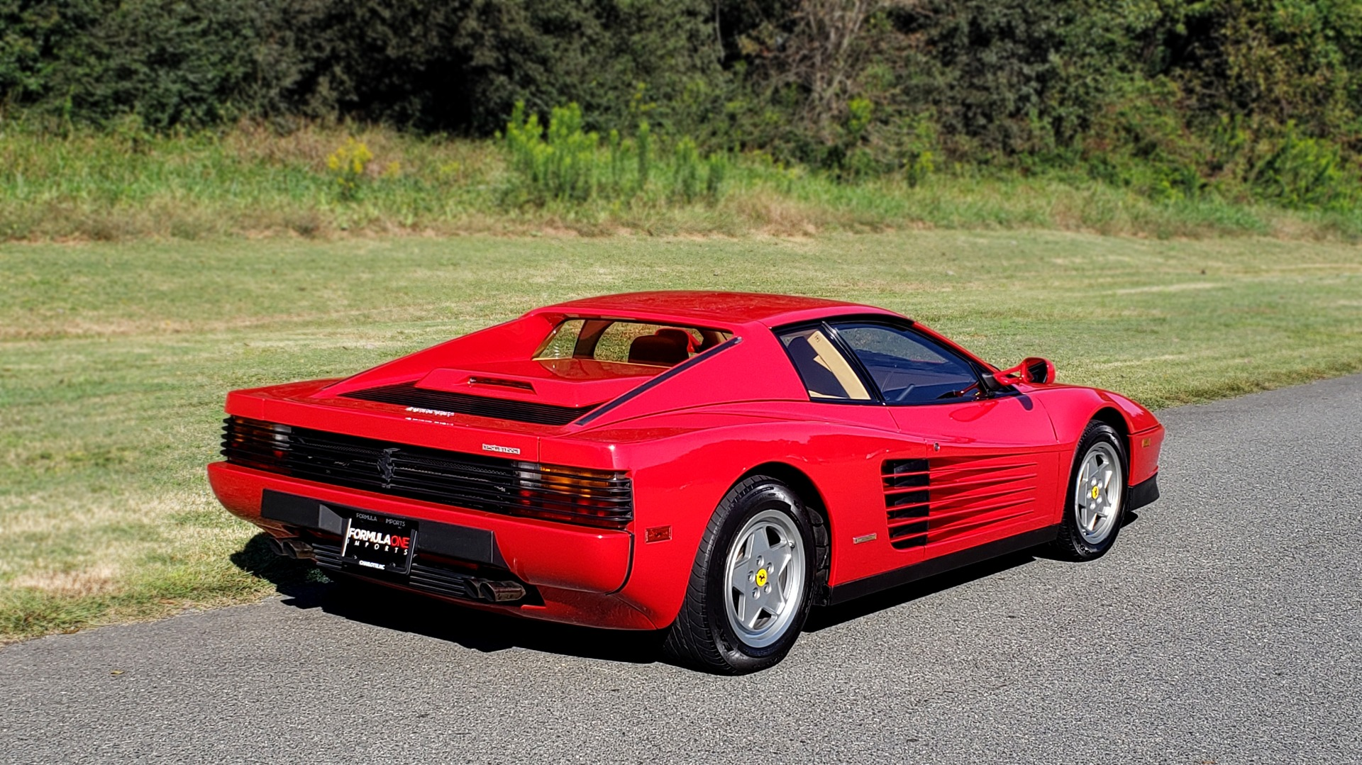 Used 1988 Ferrari TESTAROSSA COUPE / 4.9L FLAT-12 / 5-SPEED MANUAL / LOW MILES SUPER CLEAN for sale $128,999 at Formula Imports in Charlotte NC 28227 8