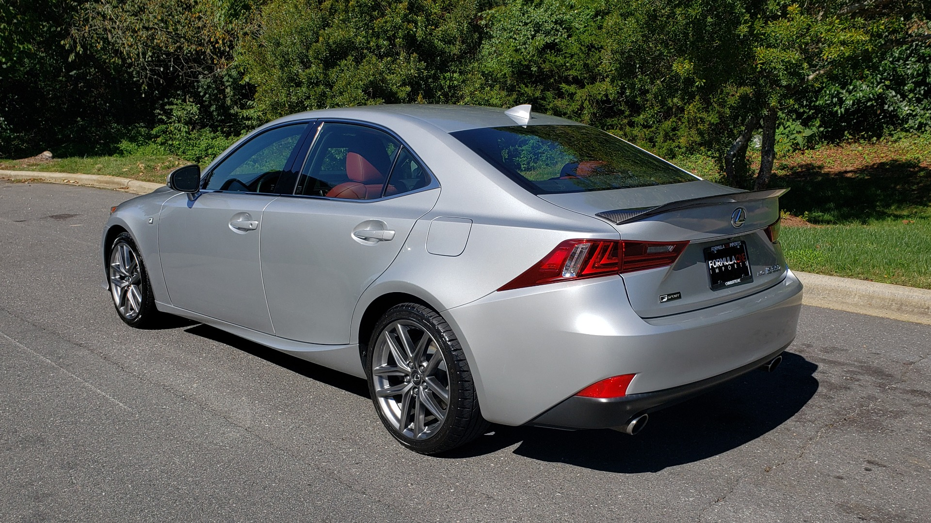 Used 2015 Lexus IS 350 F-SPORT / AWD / NAV / SUNROOF / BSM / REARVIEW for sale Sold at Formula Imports in Charlotte NC 28227 3
