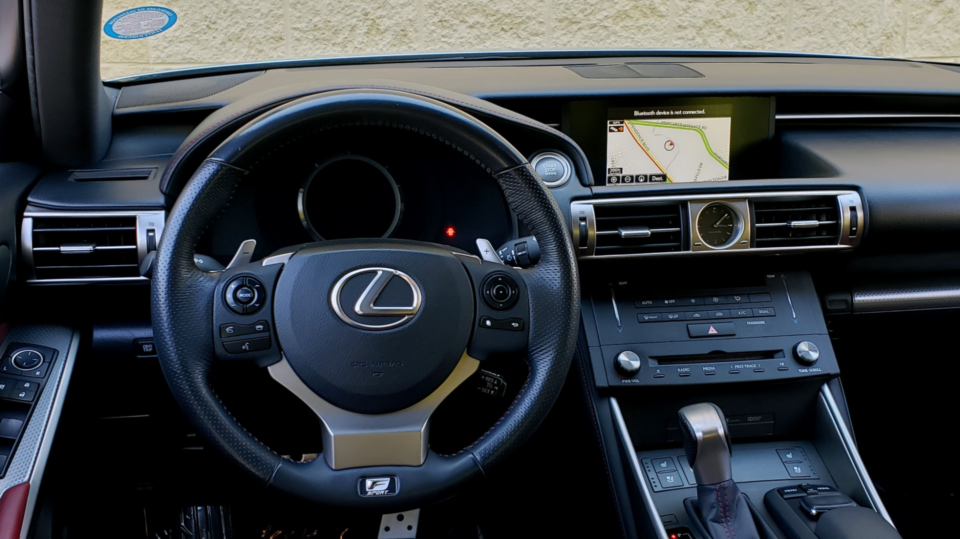 Used 2015 Lexus IS 350 F-SPORT / AWD / NAV / SUNROOF / BSM / REARVIEW for sale Sold at Formula Imports in Charlotte NC 28227 40