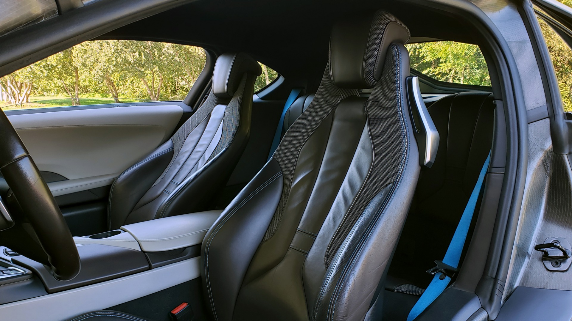 Used 2014 BMW i8 COUPE / TERA WORLD / NAV / CARBON FIBER ROOF / REARVIEW for sale Sold at Formula Imports in Charlotte NC 28227 28
