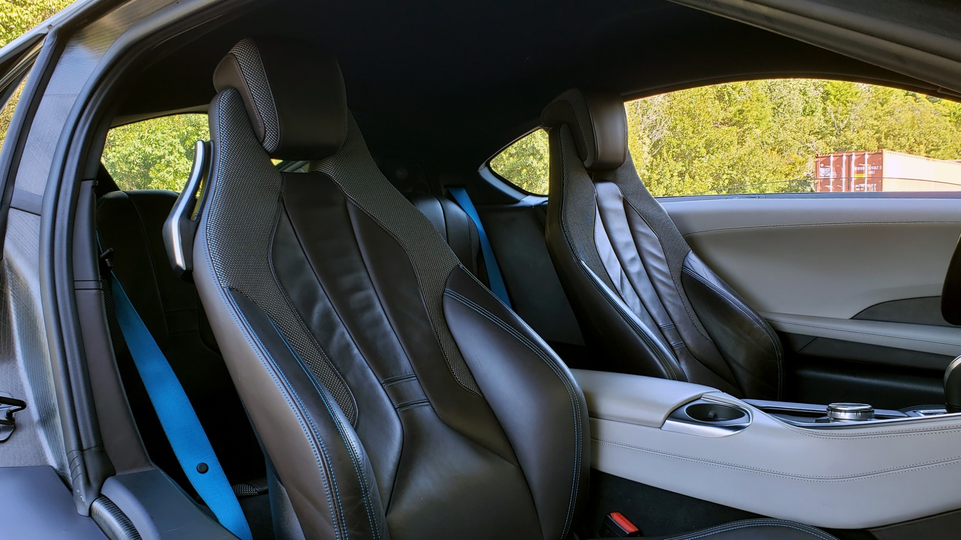 Used 2014 BMW i8 COUPE / TERA WORLD / NAV / CARBON FIBER ROOF / REARVIEW for sale Sold at Formula Imports in Charlotte NC 28227 35