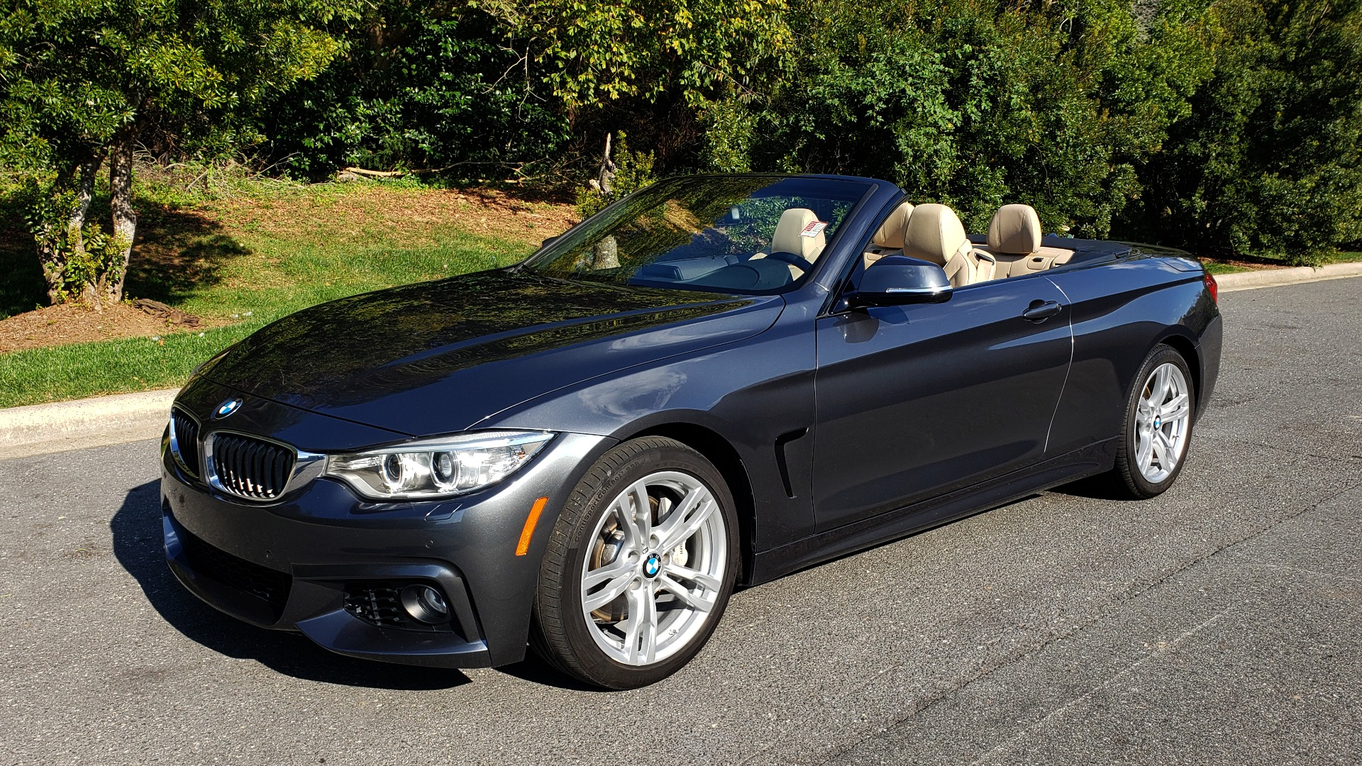 Used 2014 BMW 4 SERIES 435I CONVERTIBLE M-SPORT / PREM PKG / DRVR ASST / CLD WTHR for sale Sold at Formula Imports in Charlotte NC 28227 2