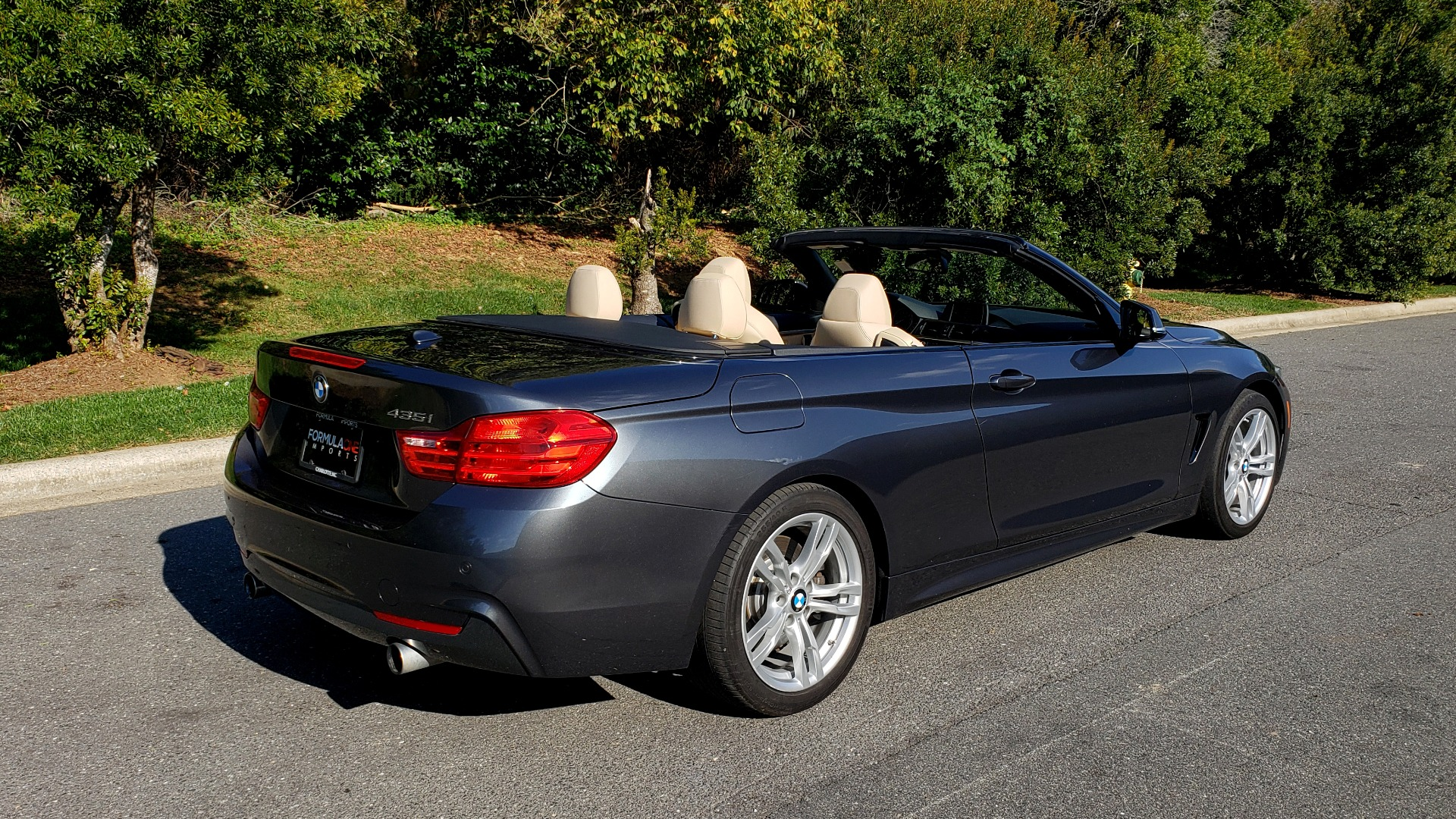 Used 2014 BMW 4 SERIES 435I CONVERTIBLE M-SPORT / PREM PKG / DRVR ASST / CLD WTHR for sale Sold at Formula Imports in Charlotte NC 28227 20