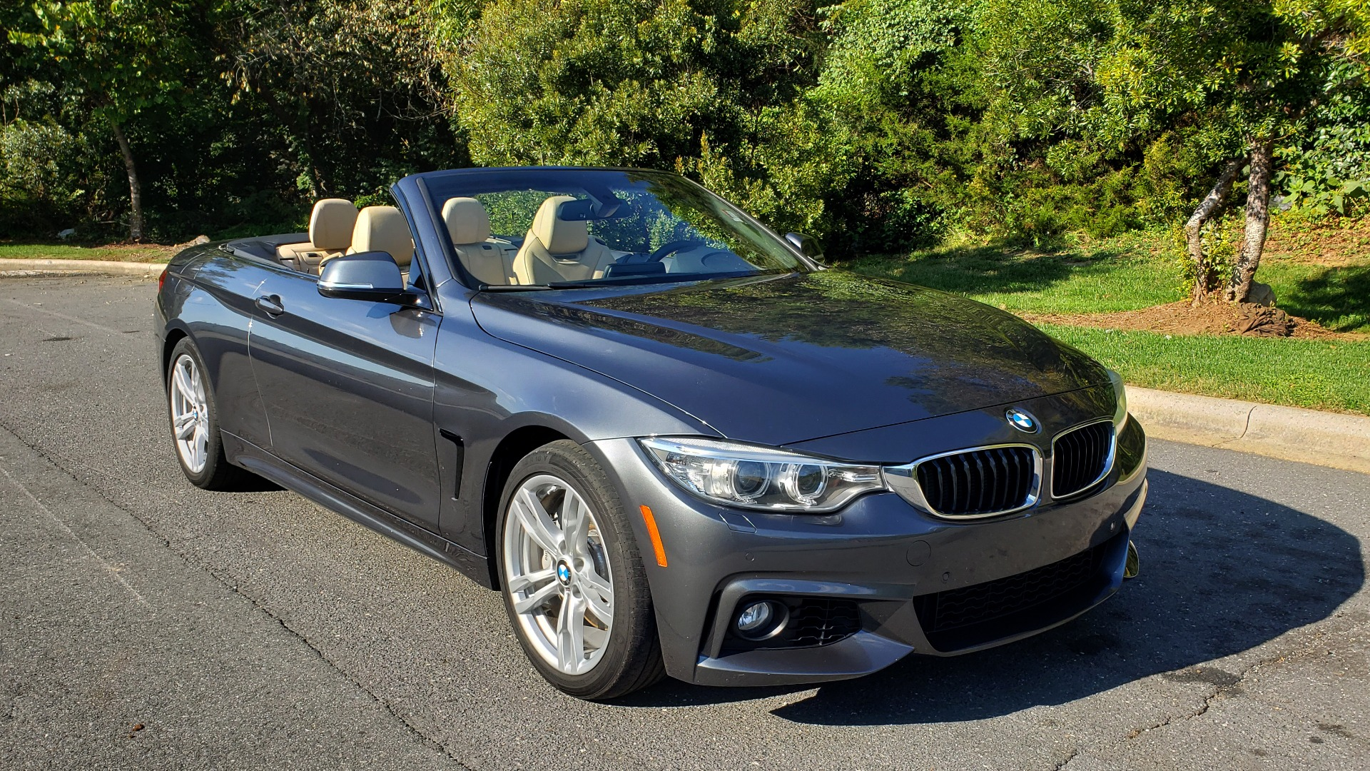 Used 2014 BMW 4 SERIES 435I CONVERTIBLE M-SPORT / PREM PKG / DRVR ASST / CLD WTHR for sale Sold at Formula Imports in Charlotte NC 28227 22