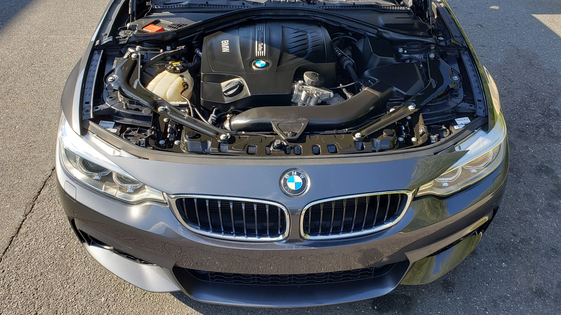 Used 2014 BMW 4 SERIES 435I CONVERTIBLE M-SPORT / PREM PKG / DRVR ASST / CLD WTHR for sale Sold at Formula Imports in Charlotte NC 28227 32