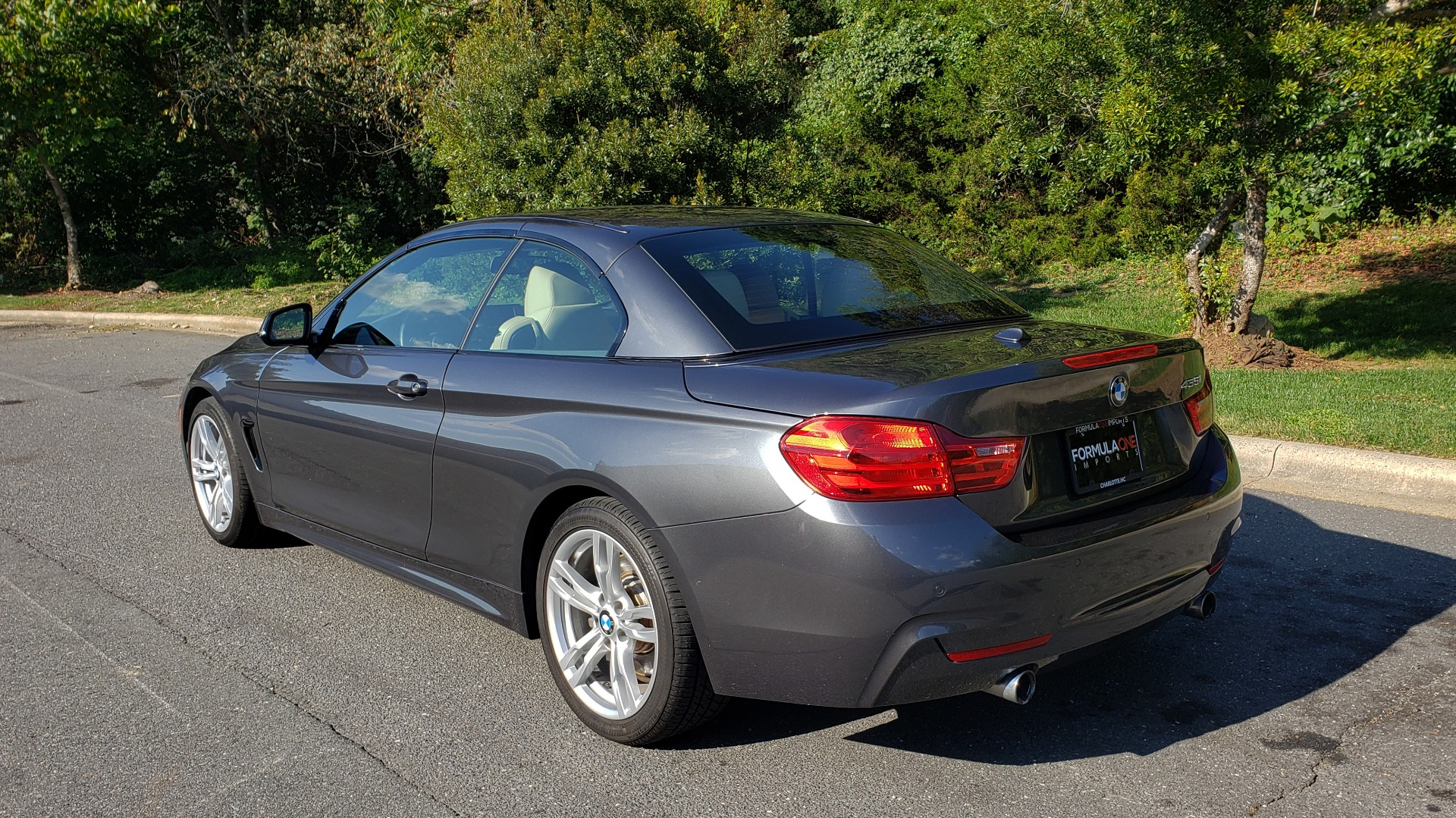 Used 2014 BMW 4 SERIES 435I CONVERTIBLE M-SPORT / PREM PKG / DRVR ASST / CLD WTHR for sale Sold at Formula Imports in Charlotte NC 28227 7