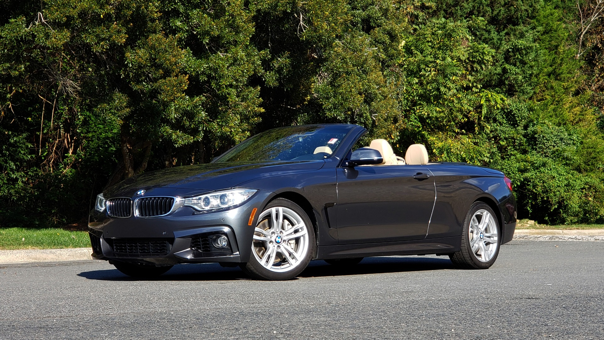 Used 2014 BMW 4 SERIES 435I CONVERTIBLE M-SPORT / PREM PKG / DRVR ASST / CLD WTHR for sale Sold at Formula Imports in Charlotte NC 28227 1