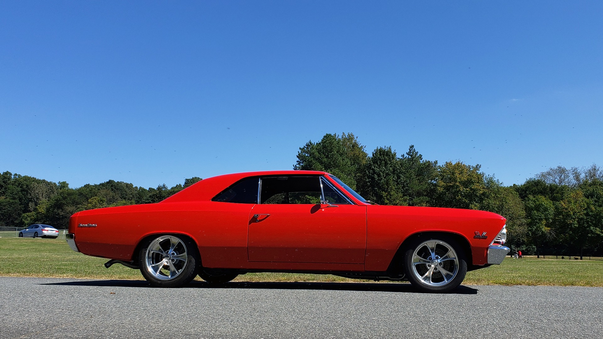 Used 1966 Chevrolet CHEVELLE SS 396 CUSTOM RESTO-MOD / 4-SPEED MANUAL / 12-BOLT REAR for sale $79,999 at Formula Imports in Charlotte NC 28227 10