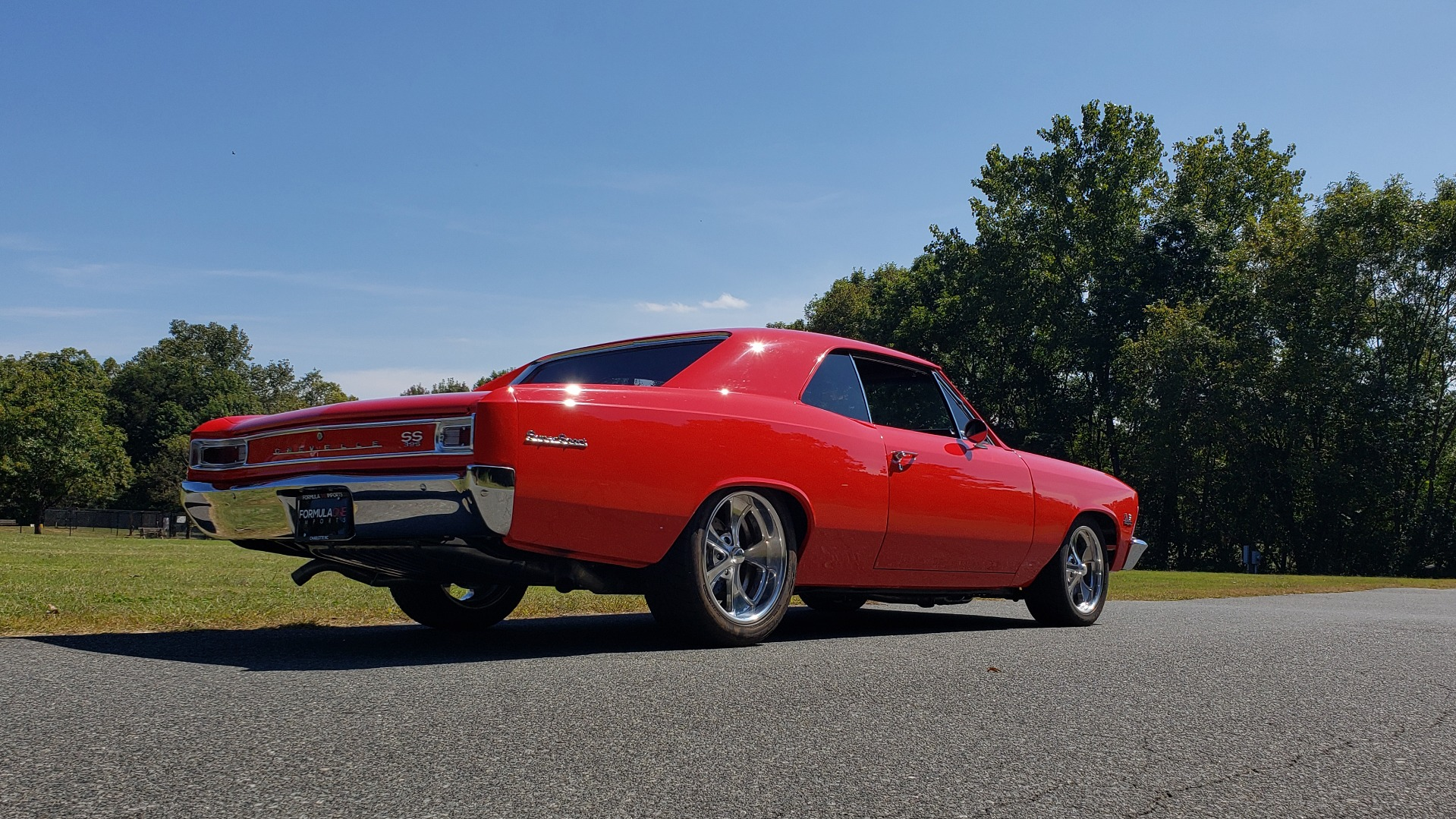 Used 1966 Chevrolet CHEVELLE SS 396 CUSTOM RESTO-MOD / 4-SPEED MANUAL / 12-BOLT REAR for sale $74,999 at Formula Imports in Charlotte NC 28227 11