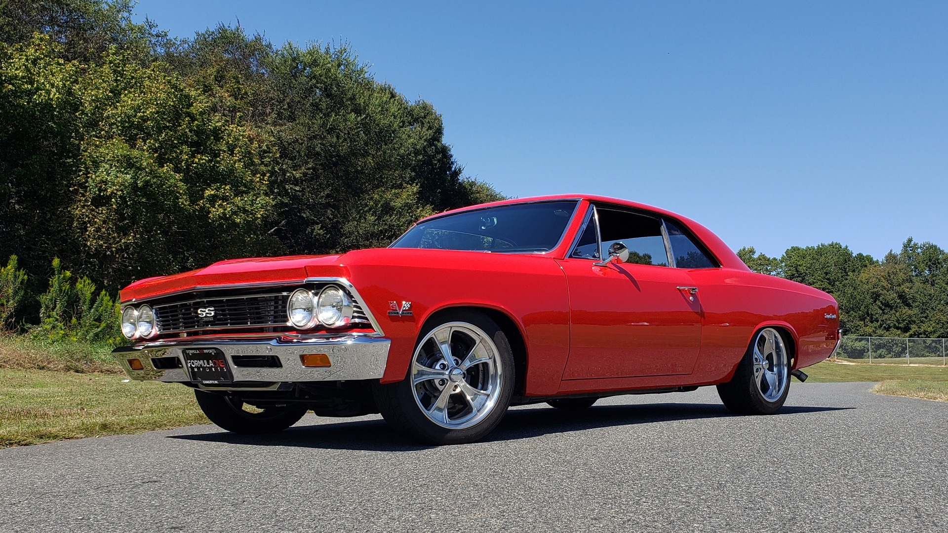 Used 1966 Chevrolet CHEVELLE SS 396 CUSTOM RESTO-MOD / 4-SPEED MANUAL / 12-BOLT REAR for sale $74,999 at Formula Imports in Charlotte NC 28227 2