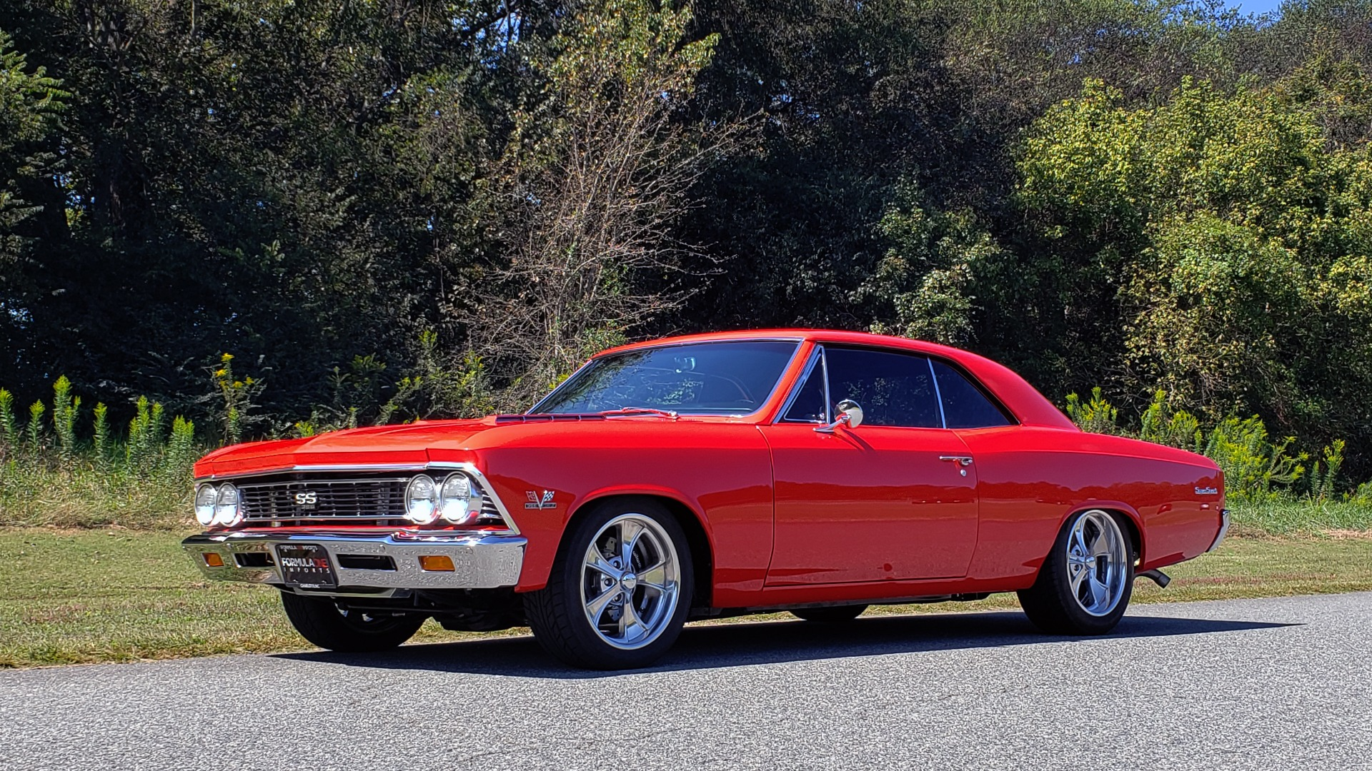 Used 1966 Chevrolet CHEVELLE SS 396 CUSTOM RESTO-MOD / 4-SPEED MANUAL / 12-BOLT REAR for sale $79,999 at Formula Imports in Charlotte NC 28227 4