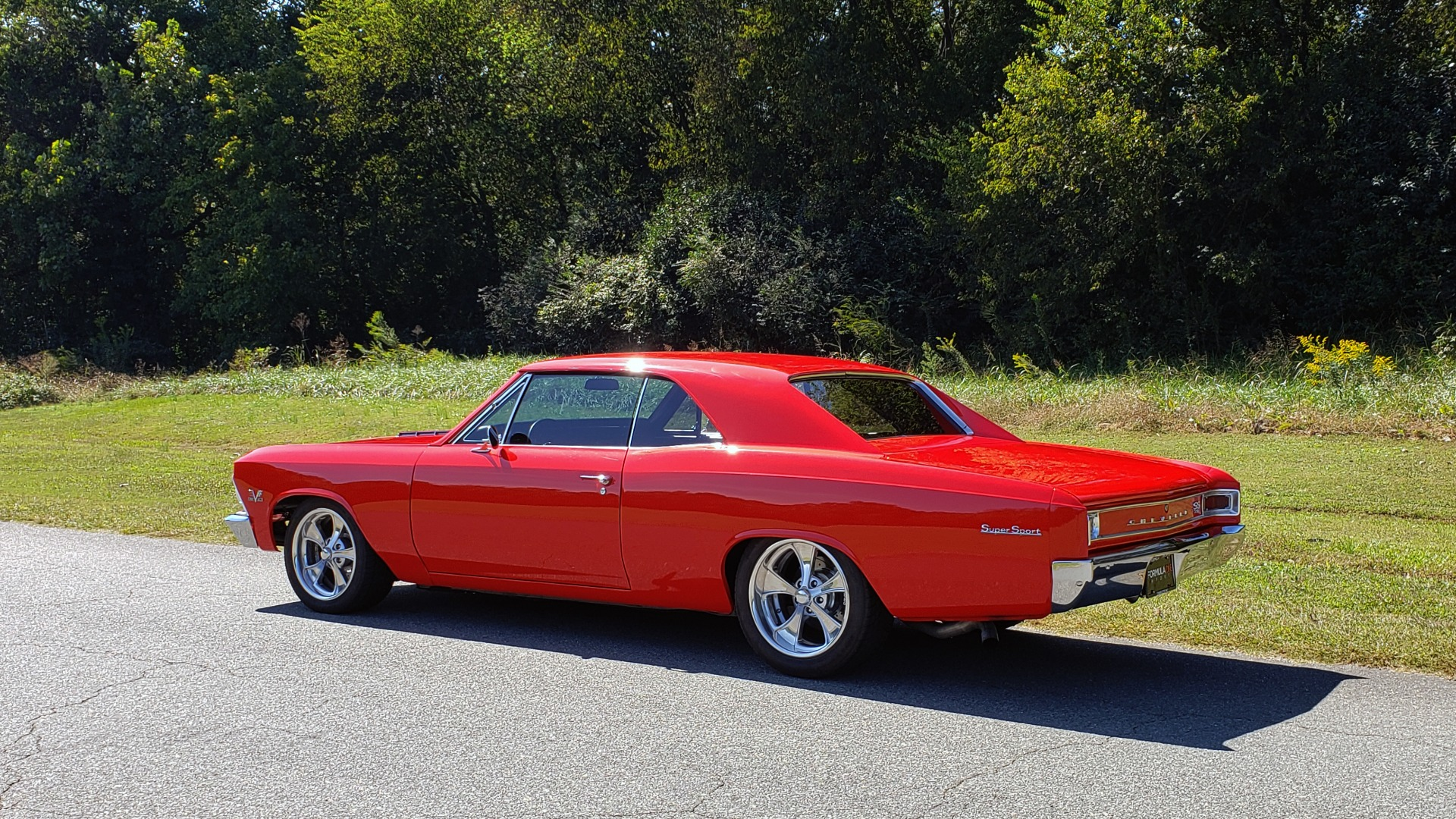 Used 1966 Chevrolet CHEVELLE SS 396 CUSTOM RESTO-MOD / 4-SPEED MANUAL / 12-BOLT REAR for sale $79,999 at Formula Imports in Charlotte NC 28227 7