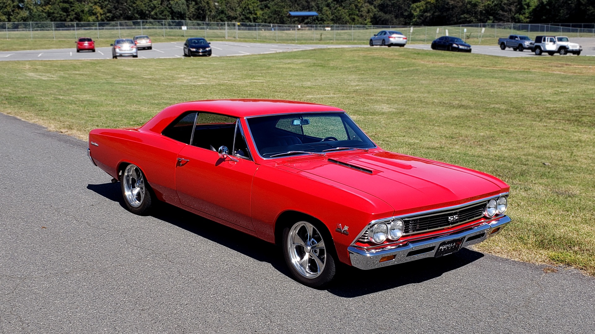 Used 1966 Chevrolet CHEVELLE SS 396 CUSTOM RESTO-MOD / 4-SPEED MANUAL / 12-BOLT REAR for sale $79,999 at Formula Imports in Charlotte NC 28227 9