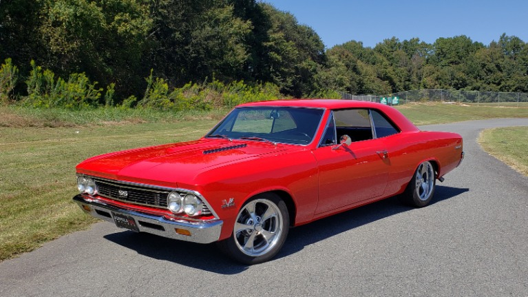 Used 1966 Chevrolet CHEVELLE SS 396 CUSTOM RESTO-MOD / 4-SPEED MANUAL / 12-BOLT REAR for sale $74,999 at Formula Imports in Charlotte NC