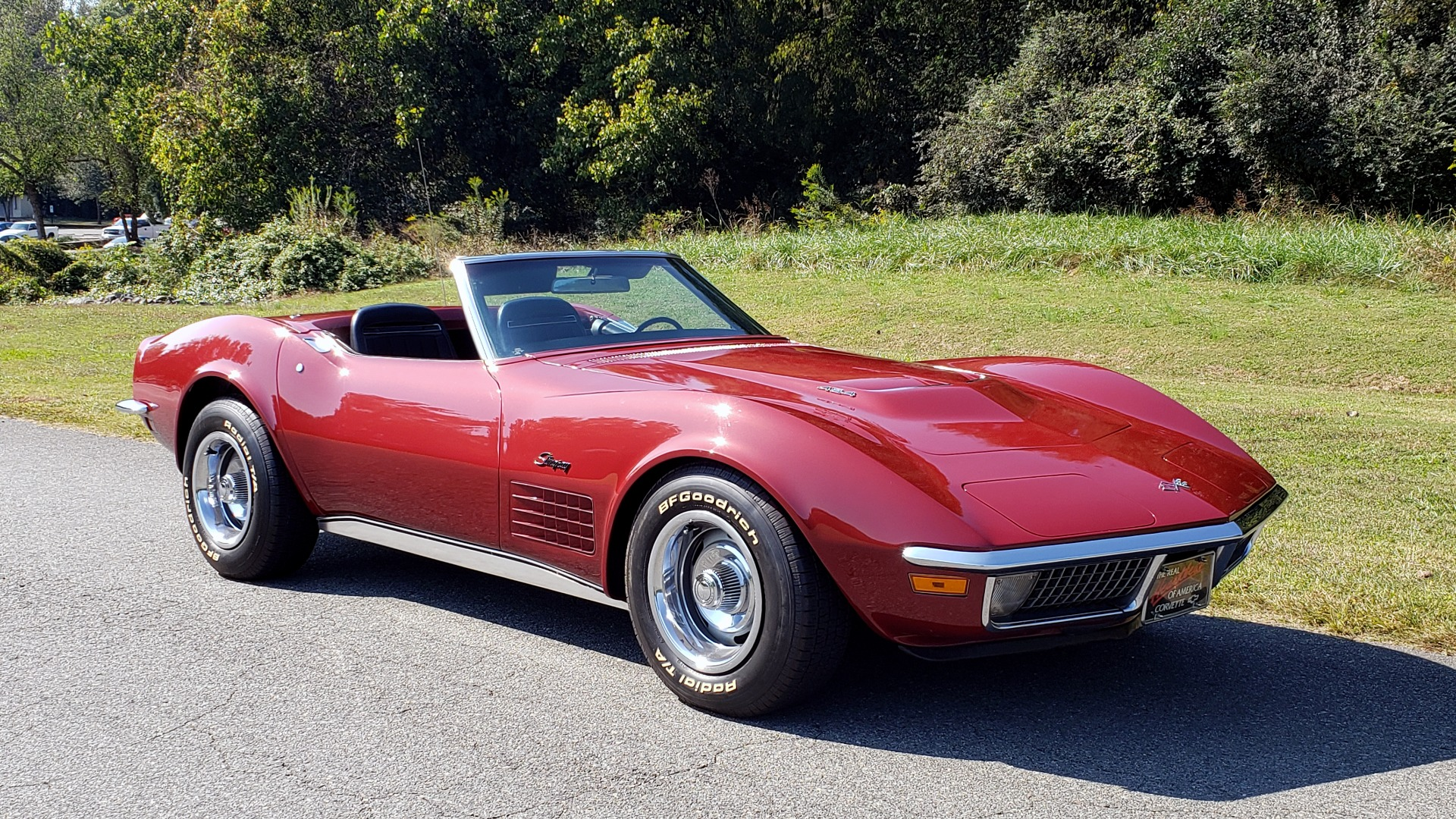 Used 1970 Chevrolet CORVETTE CONVERTIBLE / 454CI V8 / AUTO / NEW BLACK TOP / NUMBERS MATCH for sale $50,499 at Formula Imports in Charlotte NC 28227 15