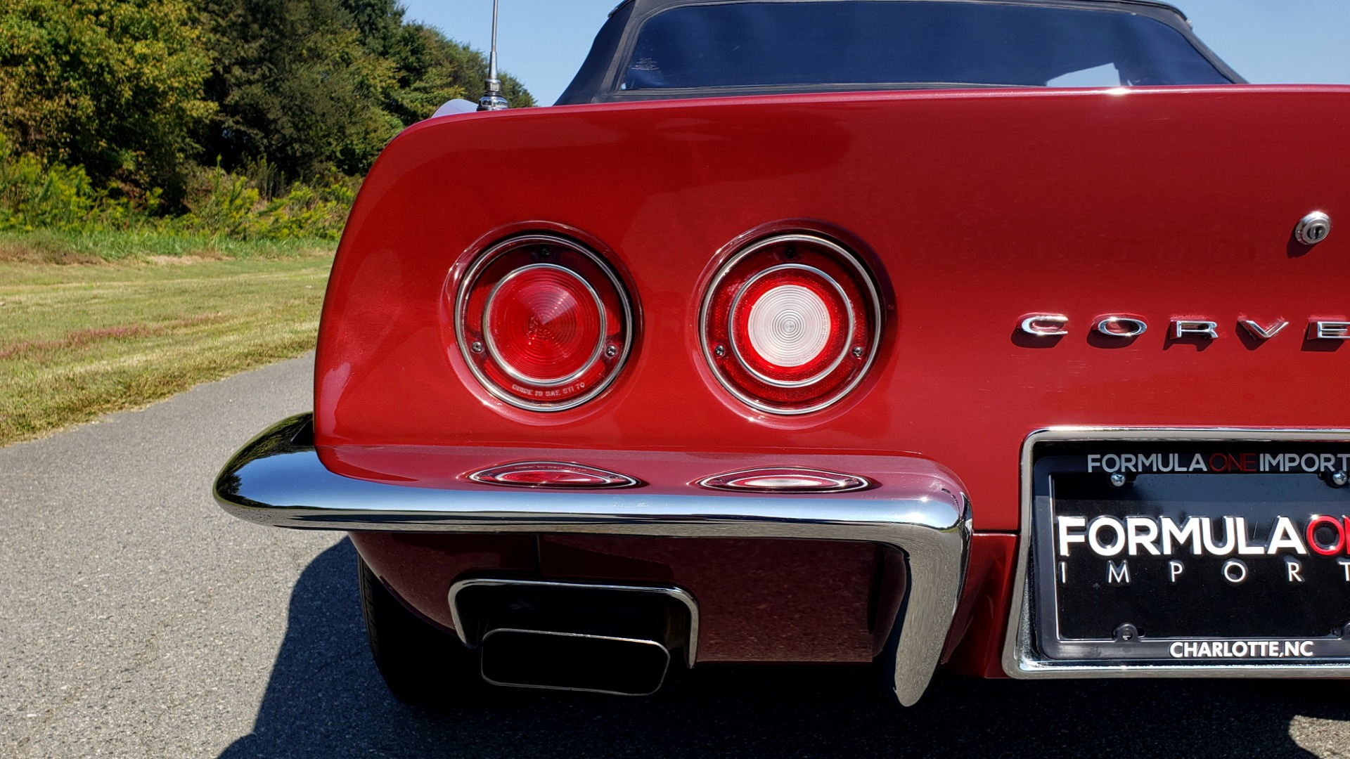 Used 1970 Chevrolet CORVETTE CONVERTIBLE / 454CI V8 / AUTO / NEW BLACK TOP / NUMBERS MATCH for sale $50,499 at Formula Imports in Charlotte NC 28227 18