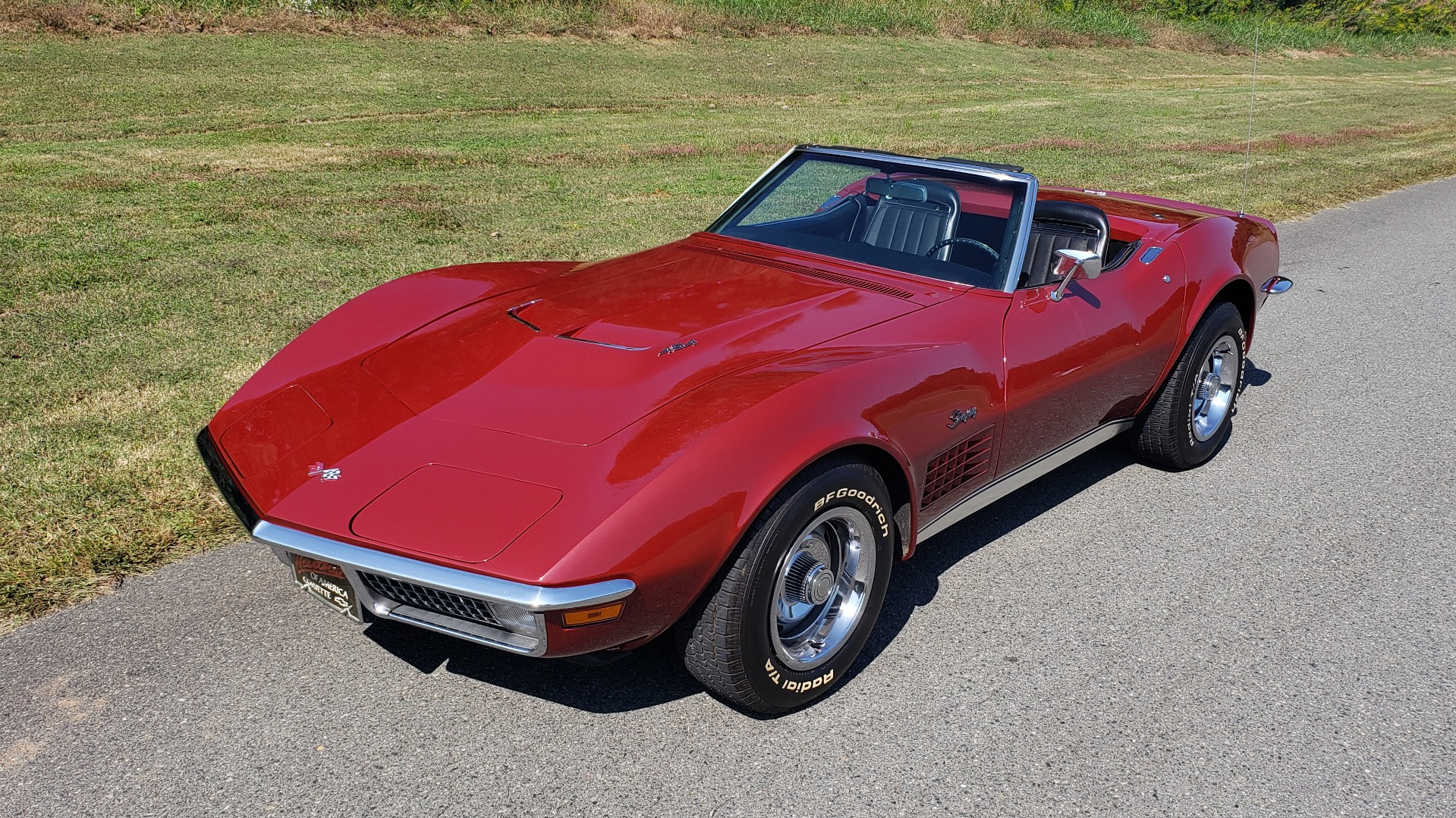 Used 1970 Chevrolet CORVETTE CONVERTIBLE / 454CI V8 / AUTO / NEW BLACK TOP / NUMBERS MATCH for sale $50,499 at Formula Imports in Charlotte NC 28227 3