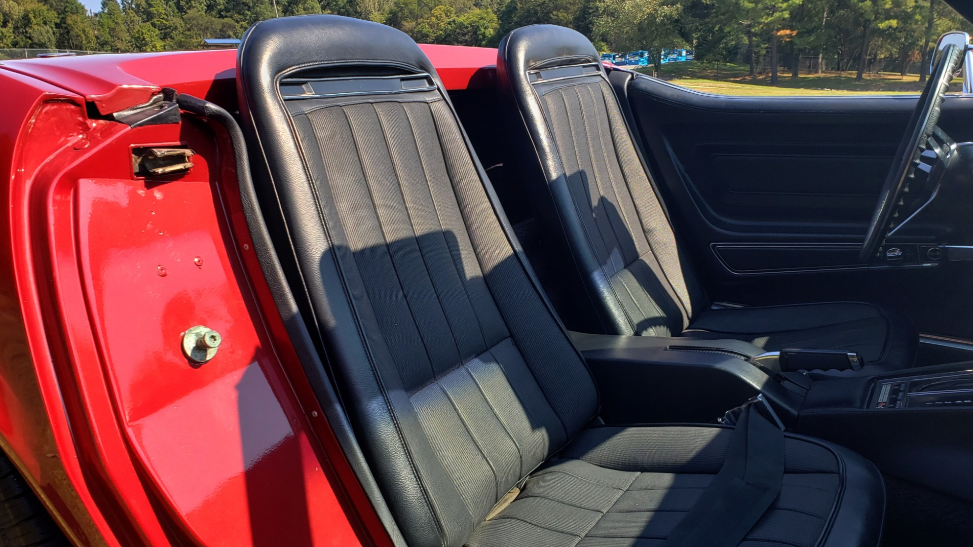 Used 1970 Chevrolet CORVETTE CONVERTIBLE / 454CI V8 / AUTO / NEW BLACK TOP / NUMBERS MATCH for sale $50,499 at Formula Imports in Charlotte NC 28227 36