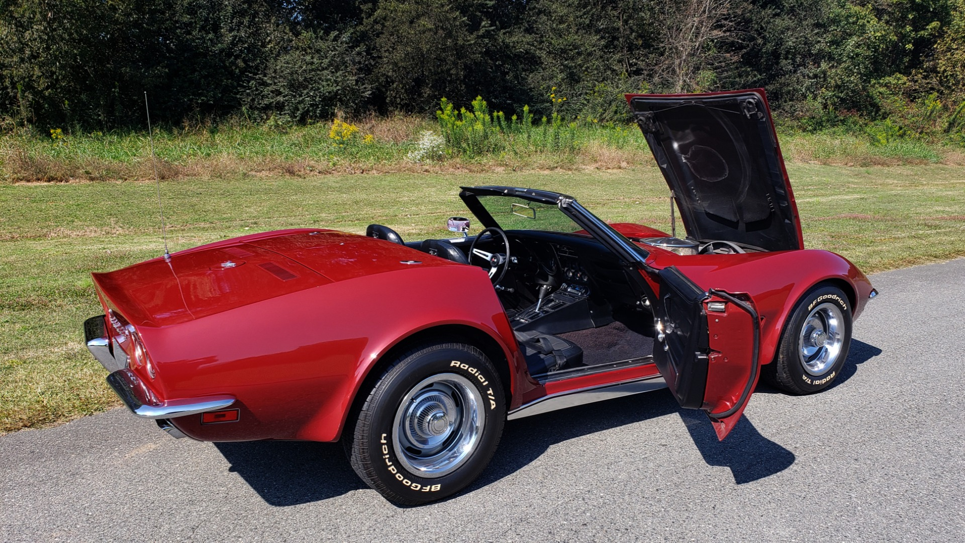 Used 1970 Chevrolet CORVETTE CONVERTIBLE / 454CI V8 / AUTO / NEW BLACK TOP / NUMBERS MATCH for sale $50,499 at Formula Imports in Charlotte NC 28227 42