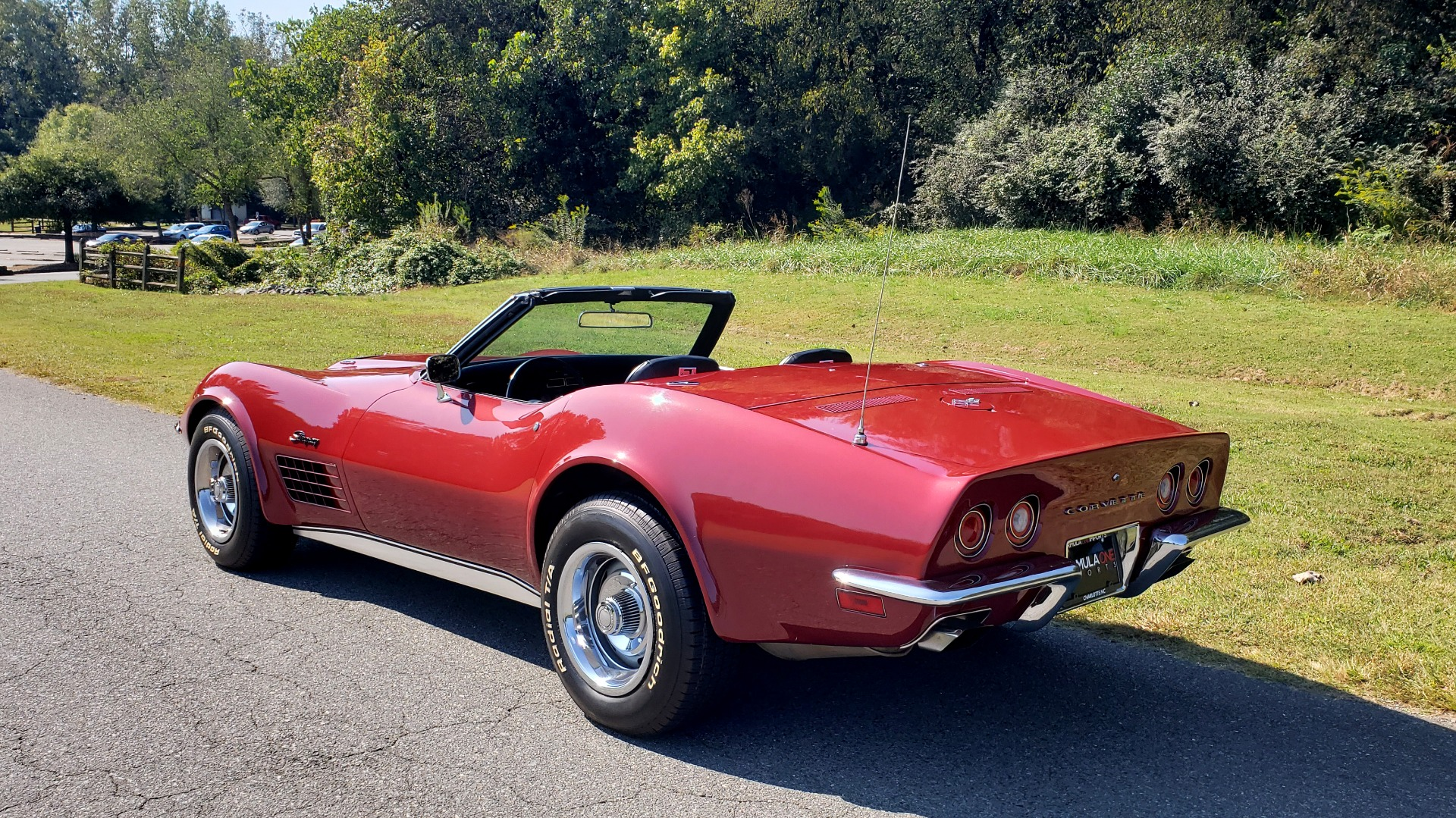 Used 1970 Chevrolet CORVETTE CONVERTIBLE / 454CI V8 / AUTO / NEW BLACK TOP / NUMBERS MATCH for sale $50,499 at Formula Imports in Charlotte NC 28227 6