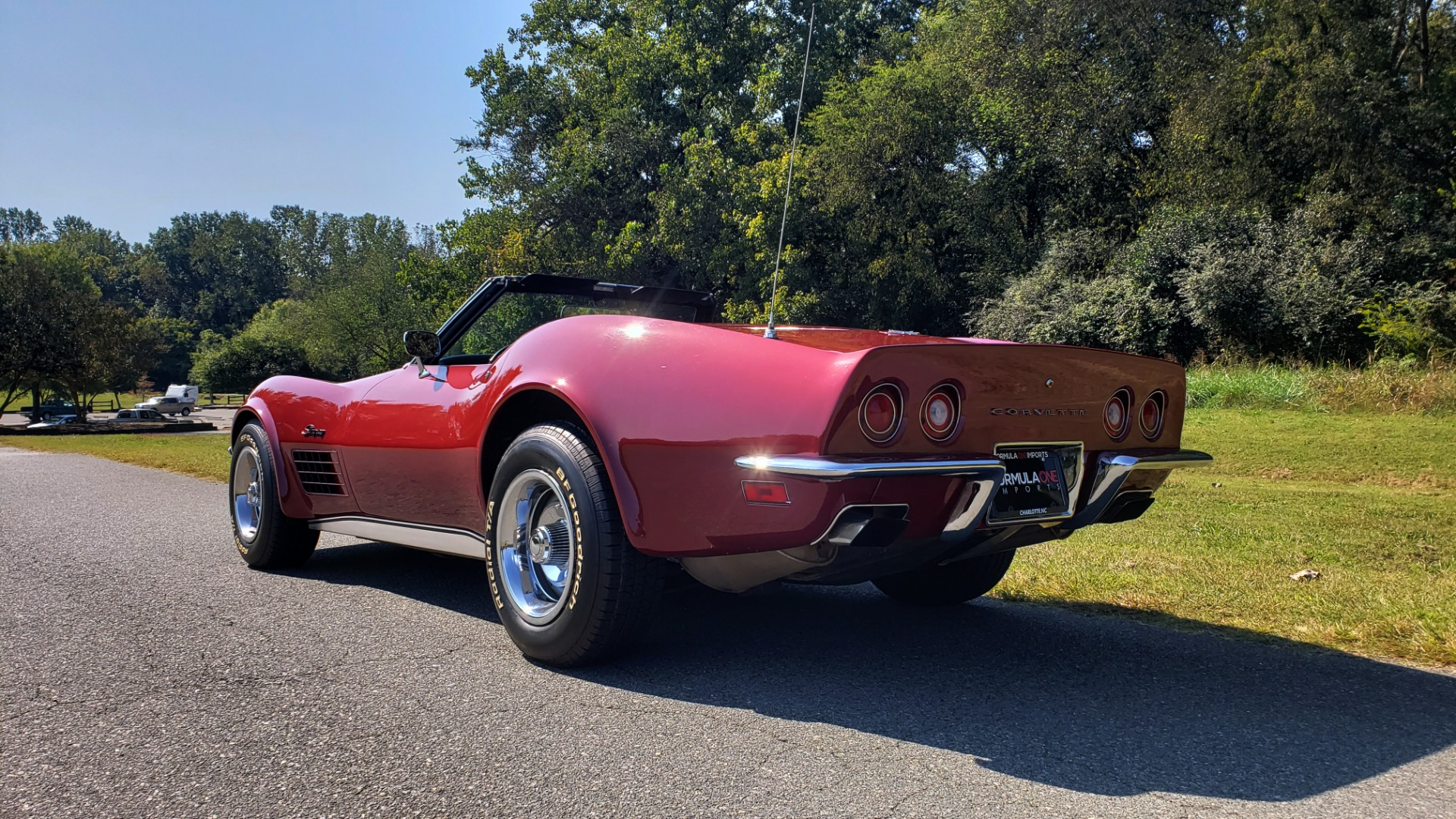 Used 1970 Chevrolet CORVETTE CONVERTIBLE / 454CI V8 / AUTO / NEW BLACK TOP / NUMBERS MATCH for sale $50,499 at Formula Imports in Charlotte NC 28227 7