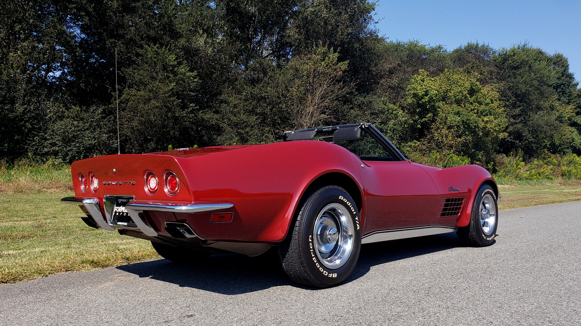 Used 1970 Chevrolet CORVETTE CONVERTIBLE / 454CI V8 / AUTO / NEW BLACK TOP / NUMBERS MATCH for sale $50,499 at Formula Imports in Charlotte NC 28227 8