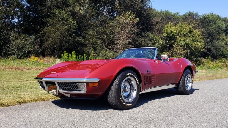 Used 1970 Chevrolet CORVETTE CONVERTIBLE / 454CI V8 / AUTO / NEW BLACK TOP / NUMBERS MATCH for sale $45,000 at Formula Imports in Charlotte NC