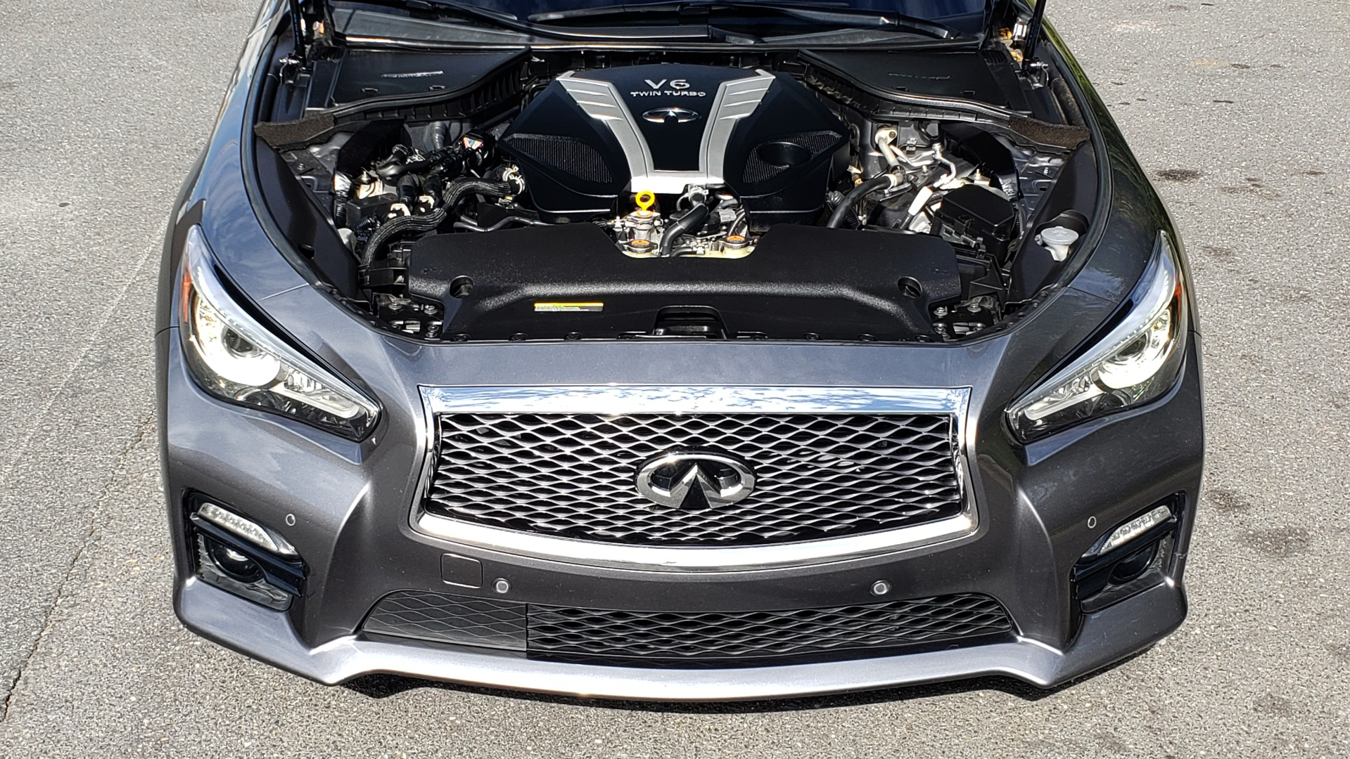 Used 2016 INFINITI Q50 3.0T RED SPORT 400 / NAV / PREM PLUS / BLIND SPOT / REARVIEW for sale $28,495 at Formula Imports in Charlotte NC 28227 11