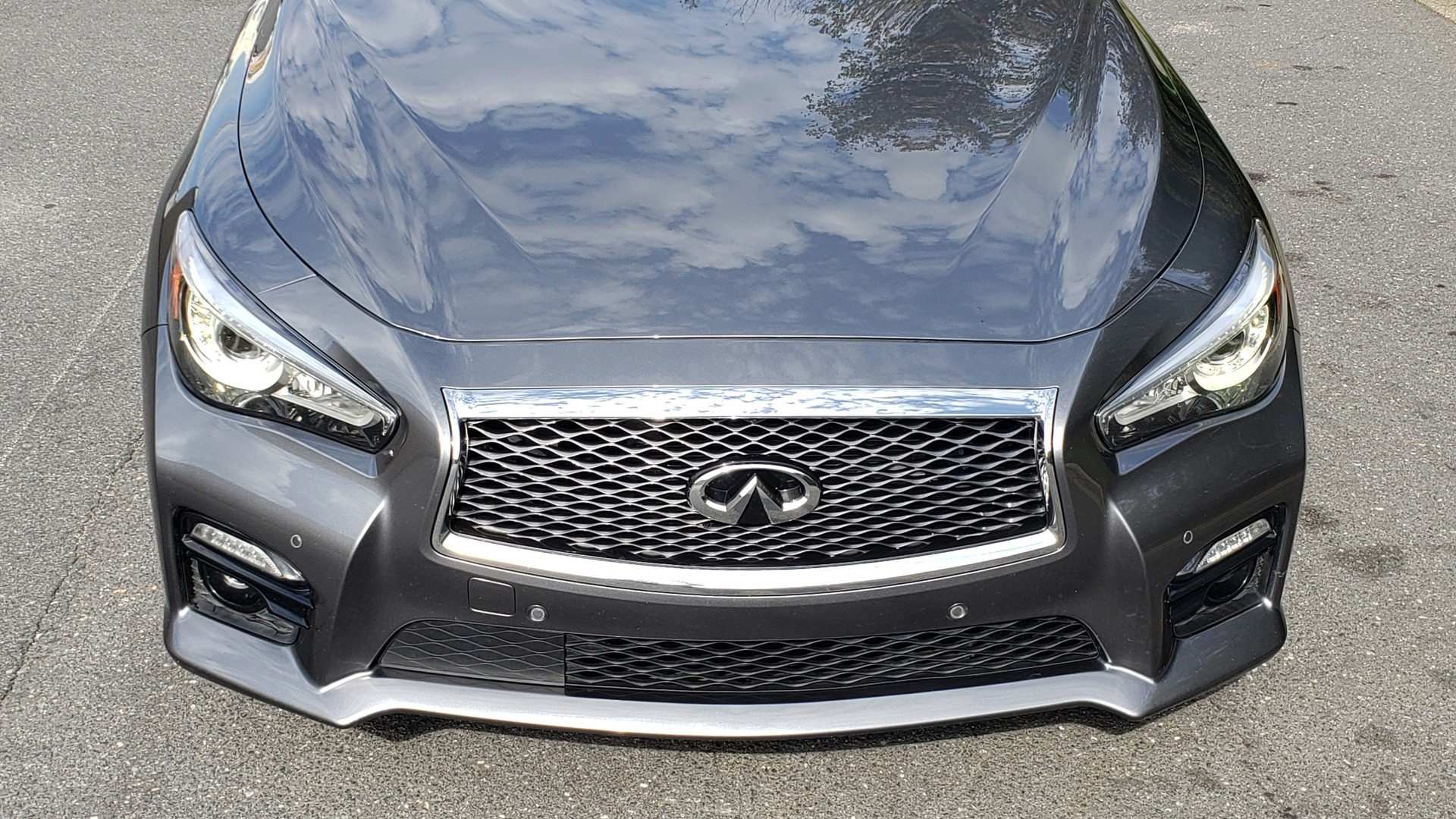 Used 2016 INFINITI Q50 3.0T RED SPORT 400 / NAV / PREM PLUS / BLIND SPOT / REARVIEW for sale $28,495 at Formula Imports in Charlotte NC 28227 15